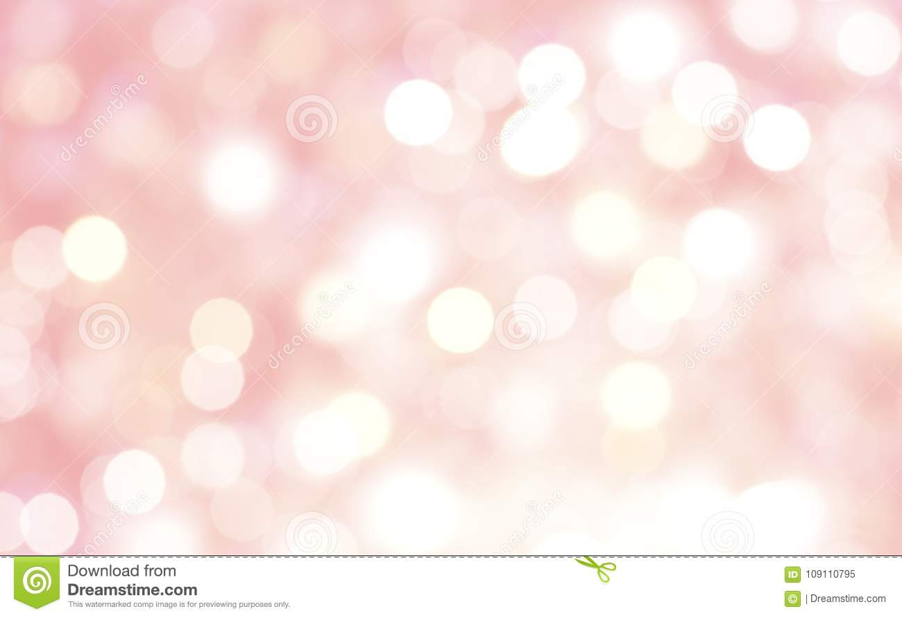 Abstract of bokeh pink pastel background.