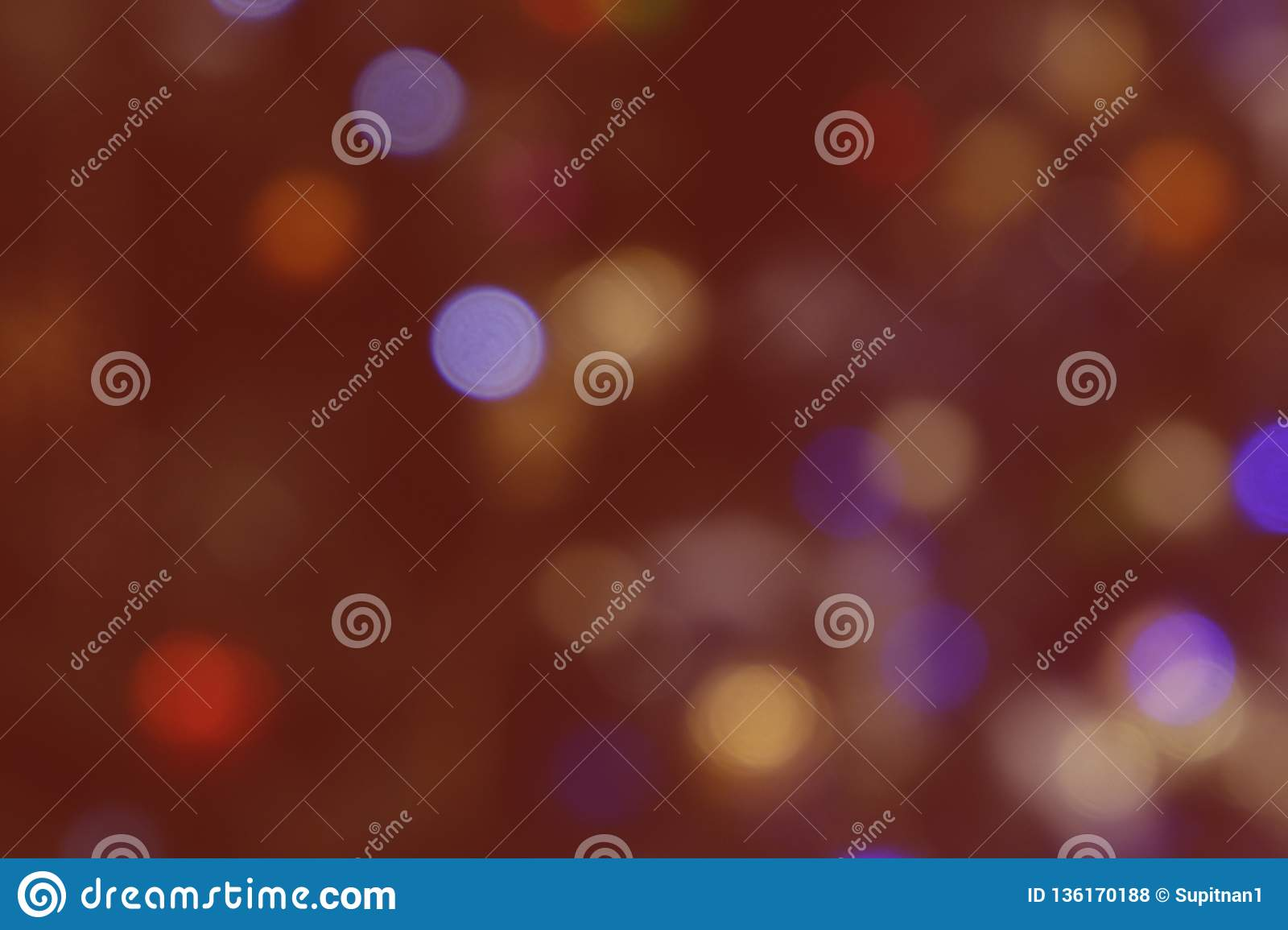 Abstract Bokeh Red background vintage texture, image.