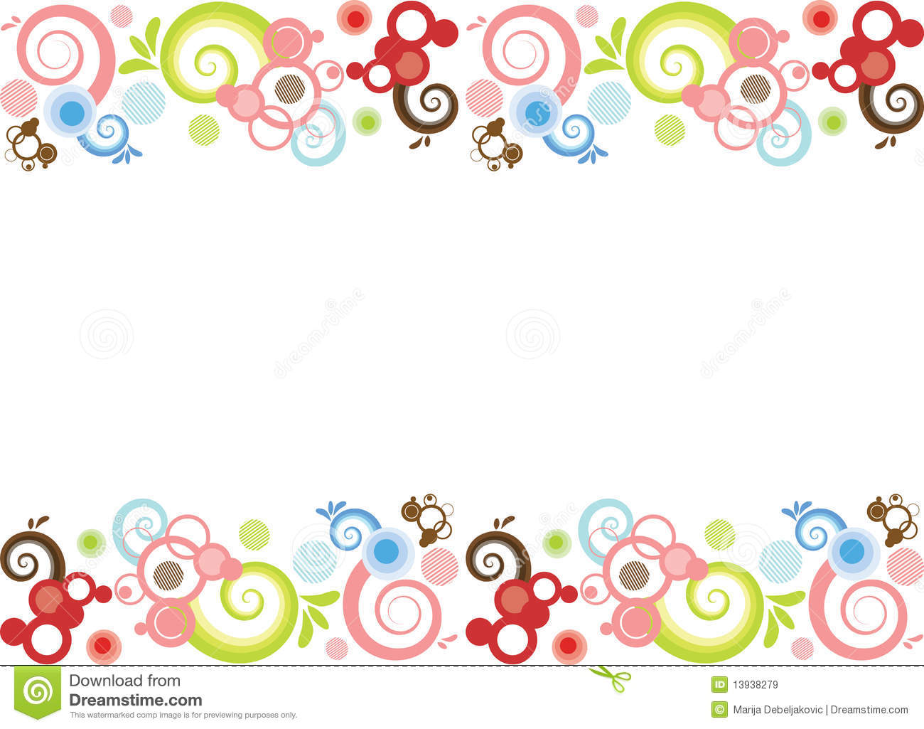 Abstract Border Royalty Free Stock Images - Image: 13938279