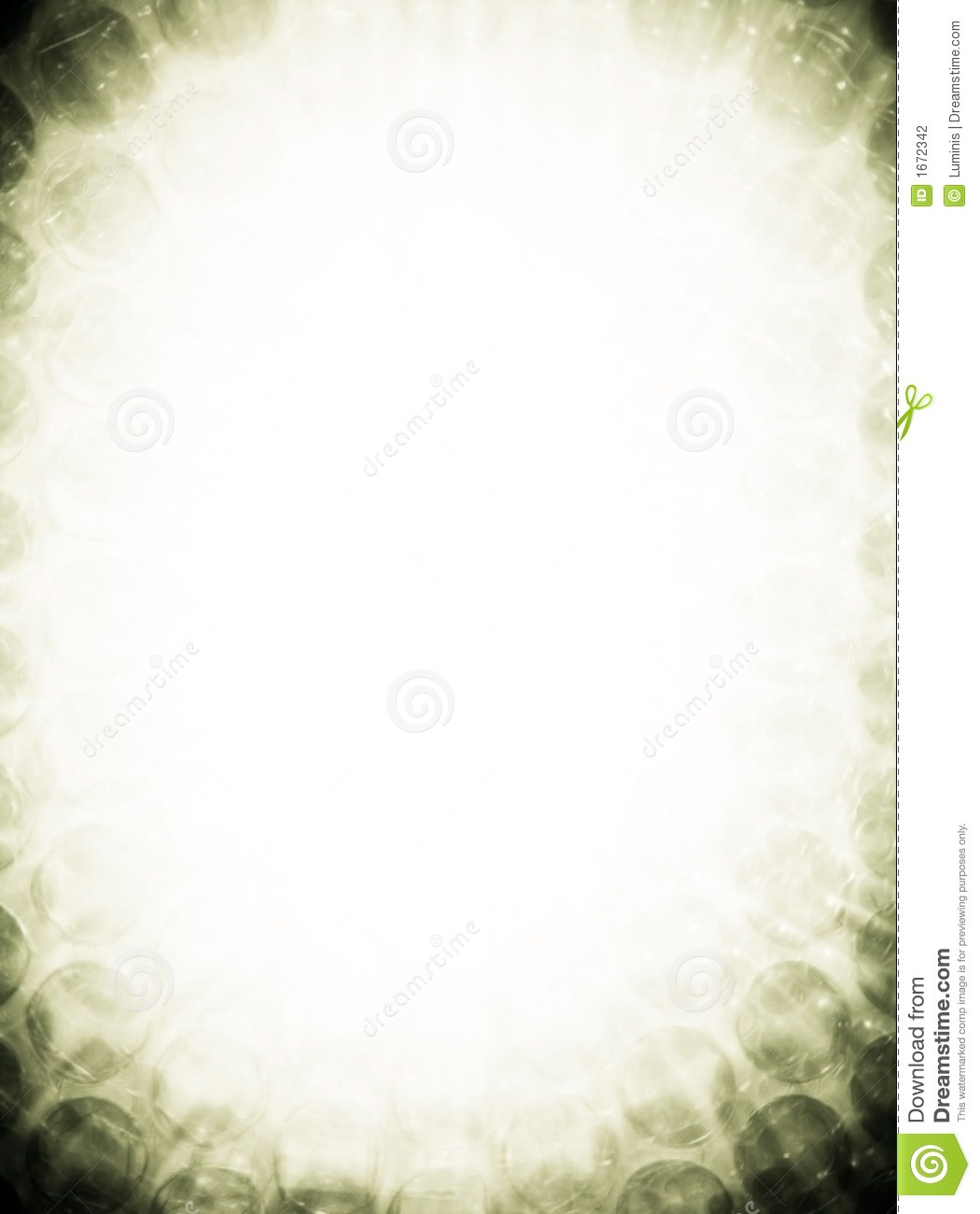 Abstract Border Poison Green Stock Photography - Image: 1672342
