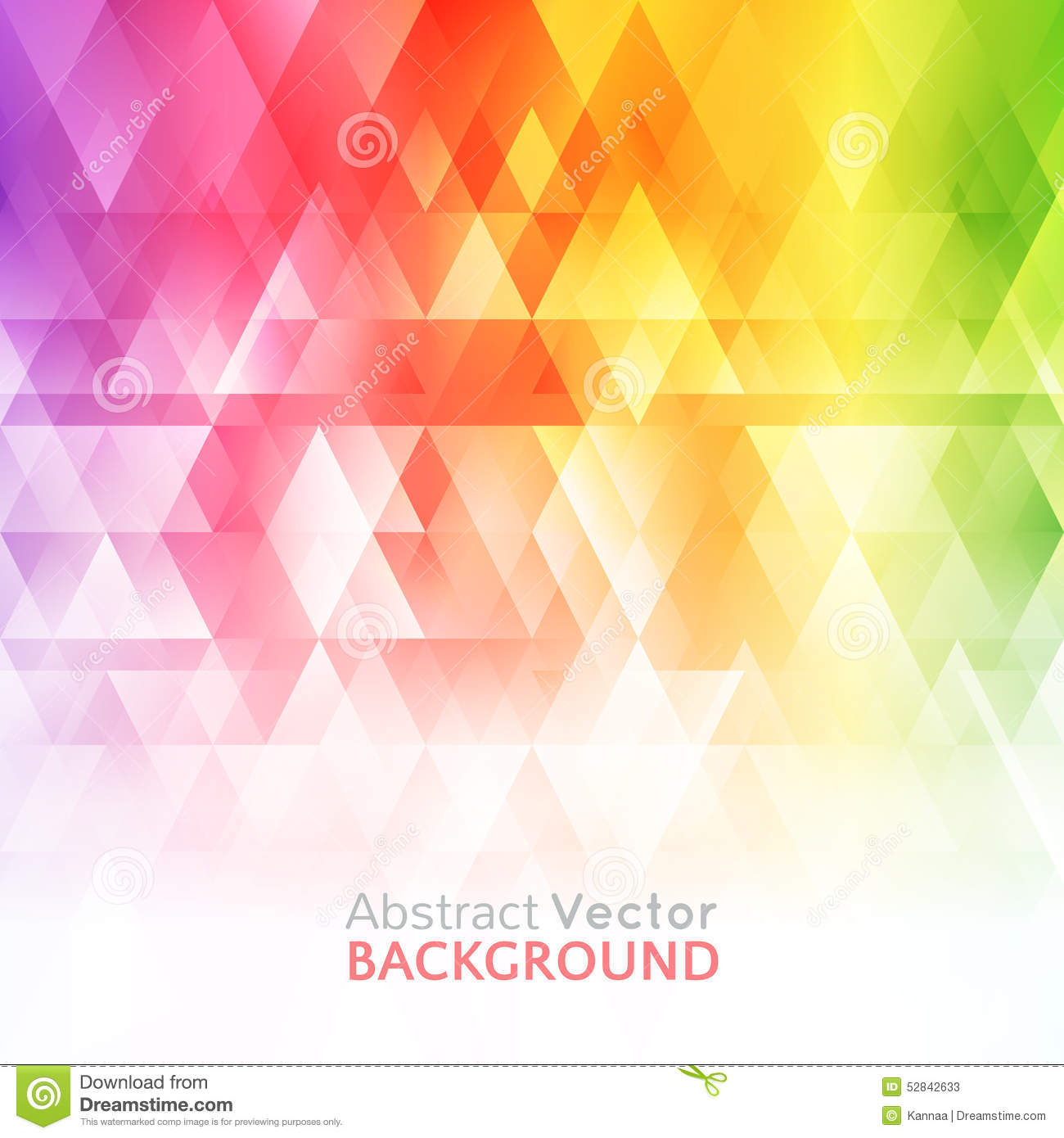Abstract Bright Background Vector Illustration Stock Vector