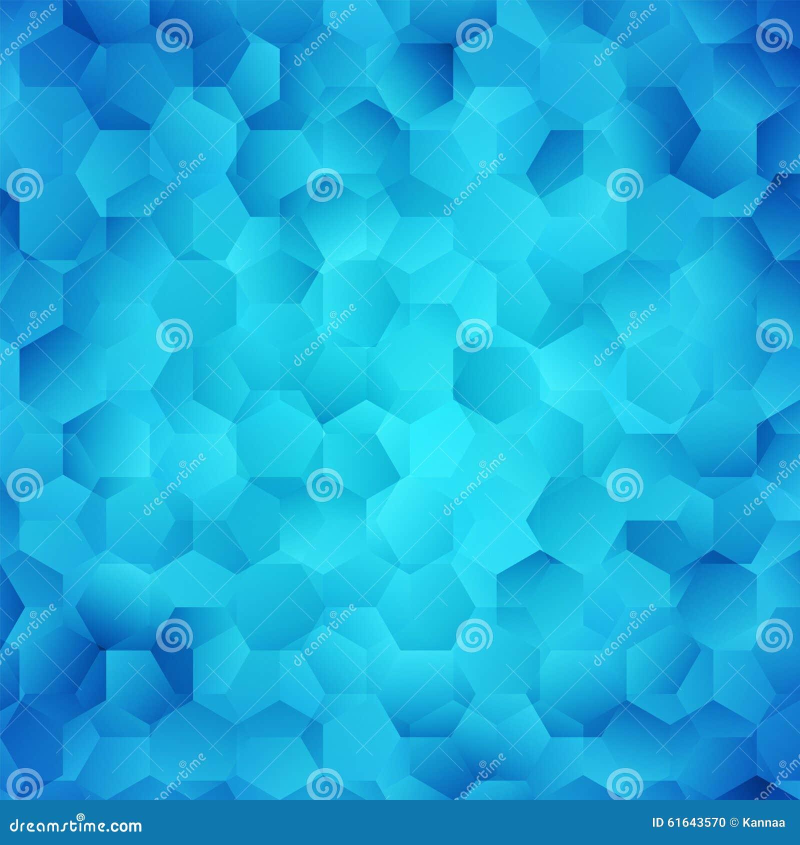 Abstract Bright Blue Wallpaper Stock Illustration Illustration