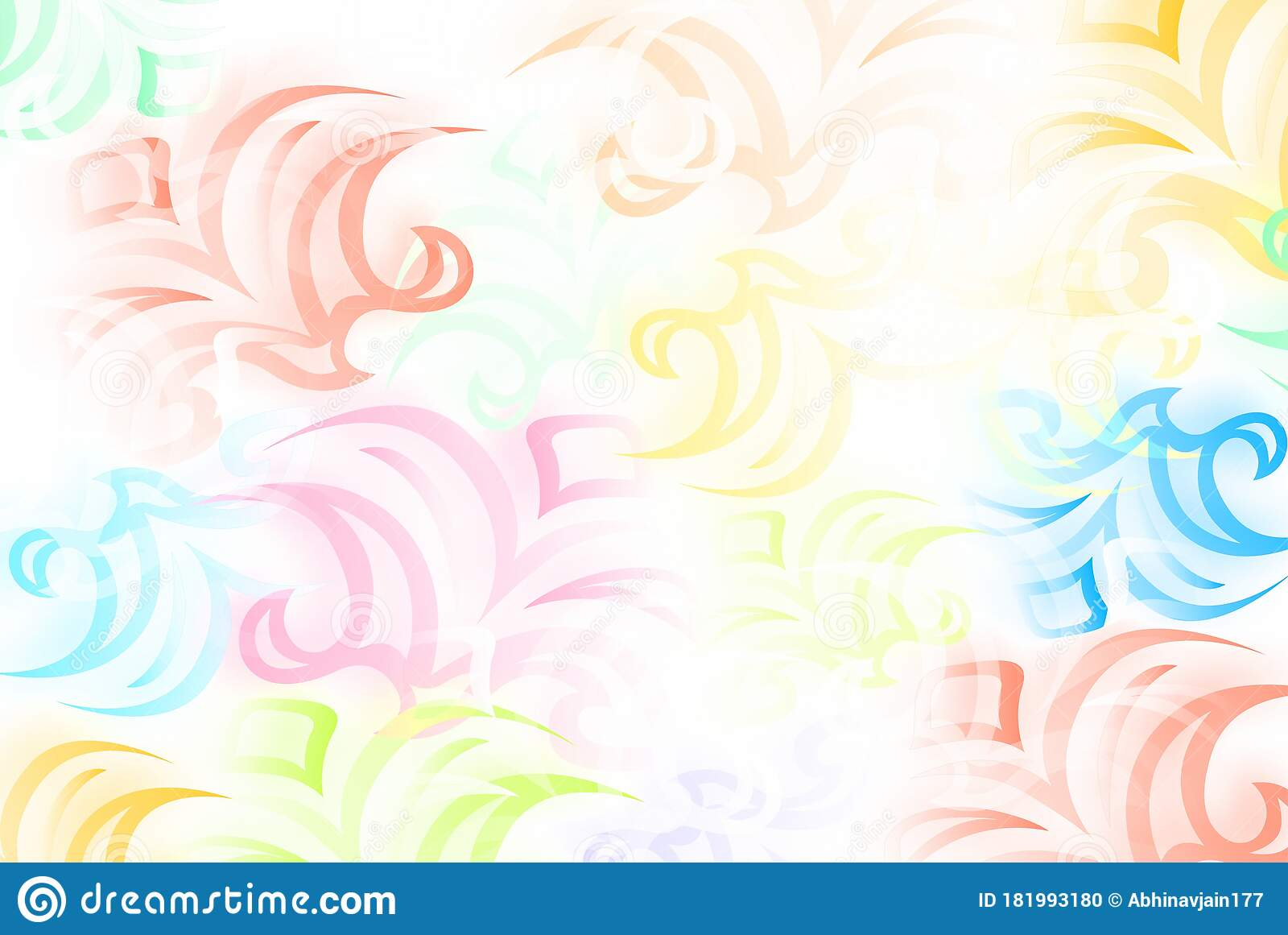 Abstract Bright Colorful Flowers Wallpaper Background In Vector Bright Glowing Colorful Background Wallpaper Stock Illustration Illustration Of Decoration Beautiful 181993180