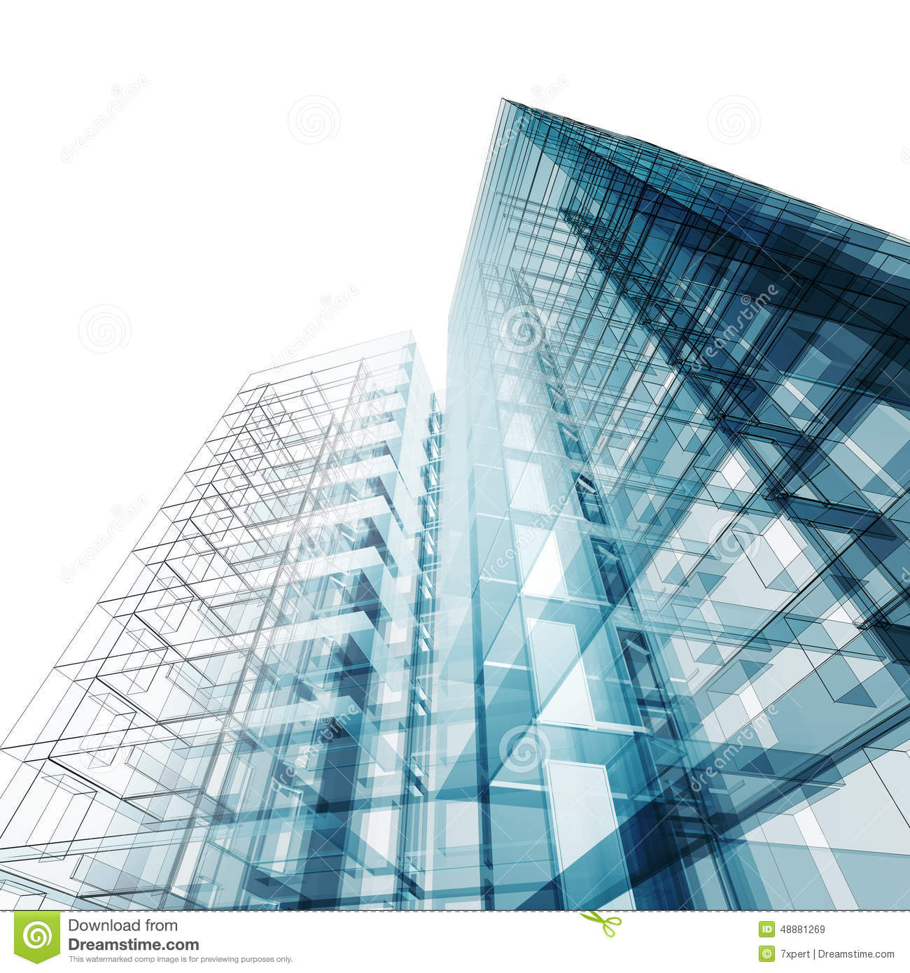 Abstract building stock illustration image of for Building design images