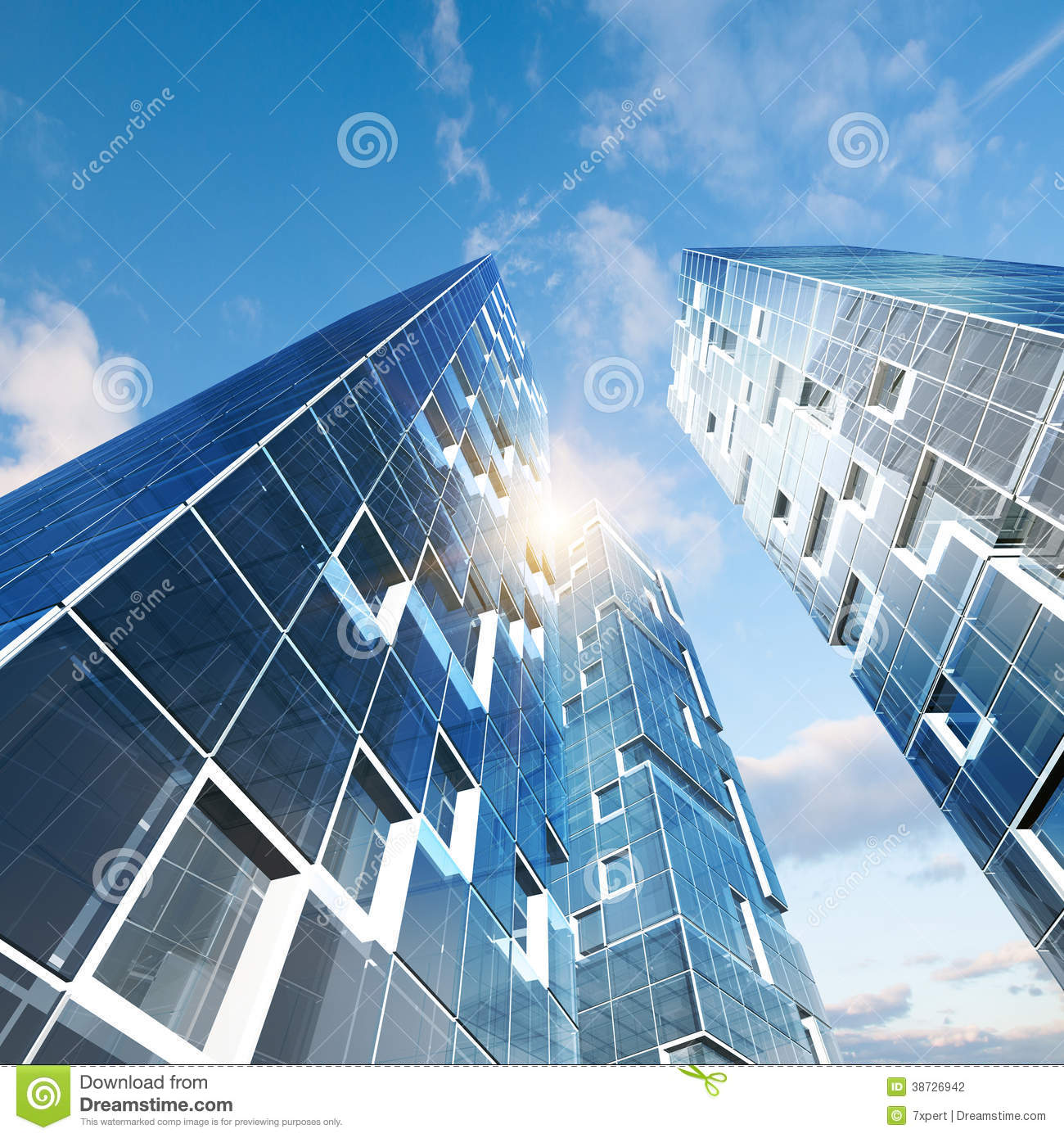 Abstract Building Stock Photography - Image: 38726942