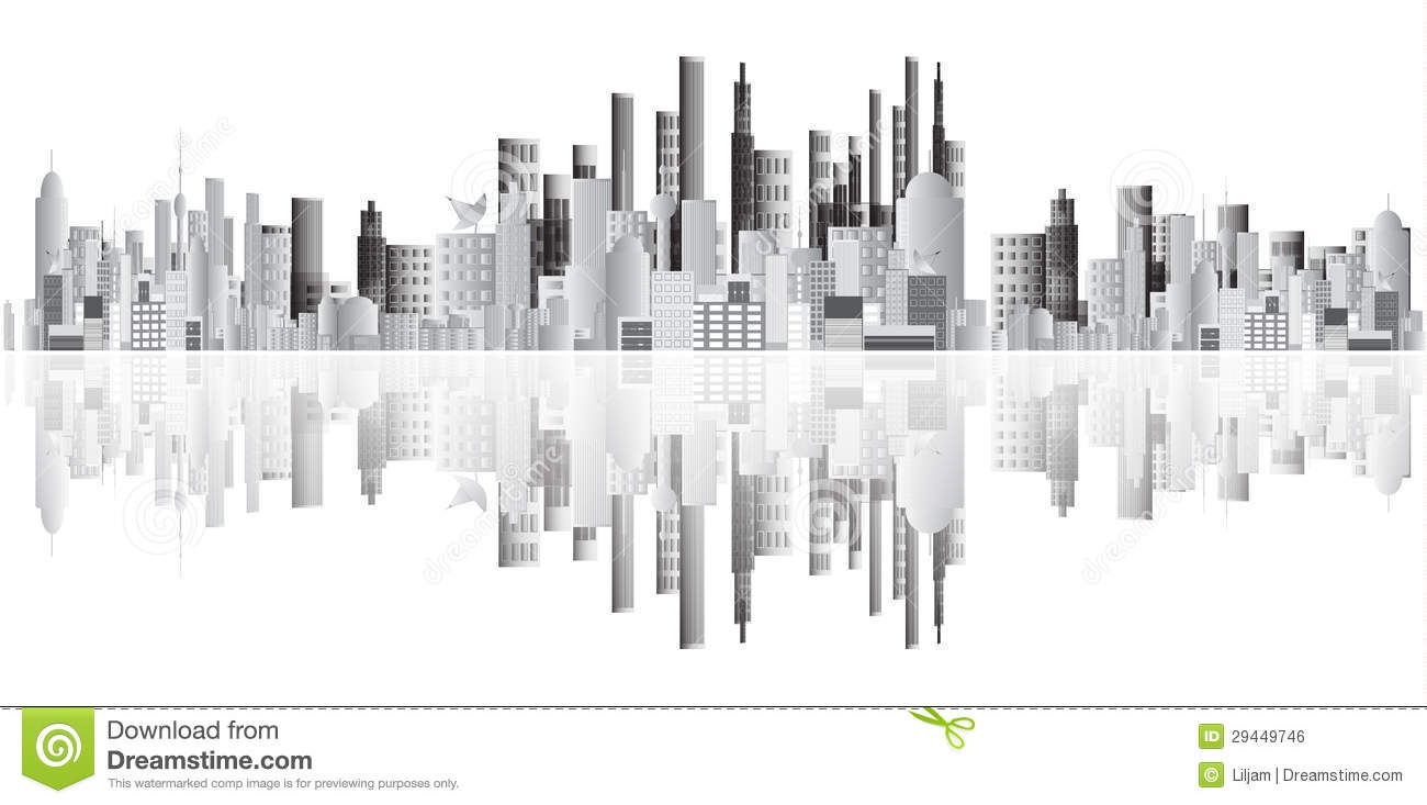 Abstract Buildings Vector Royalty Free Stock Image - Image ...