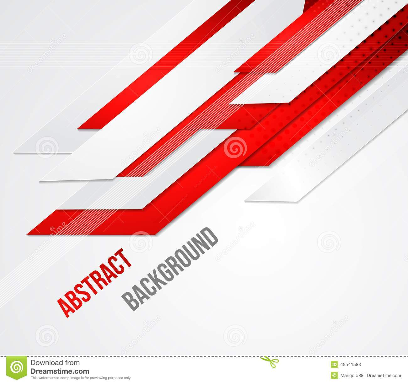 Abstract Business Background Template Brochure Stock Vector