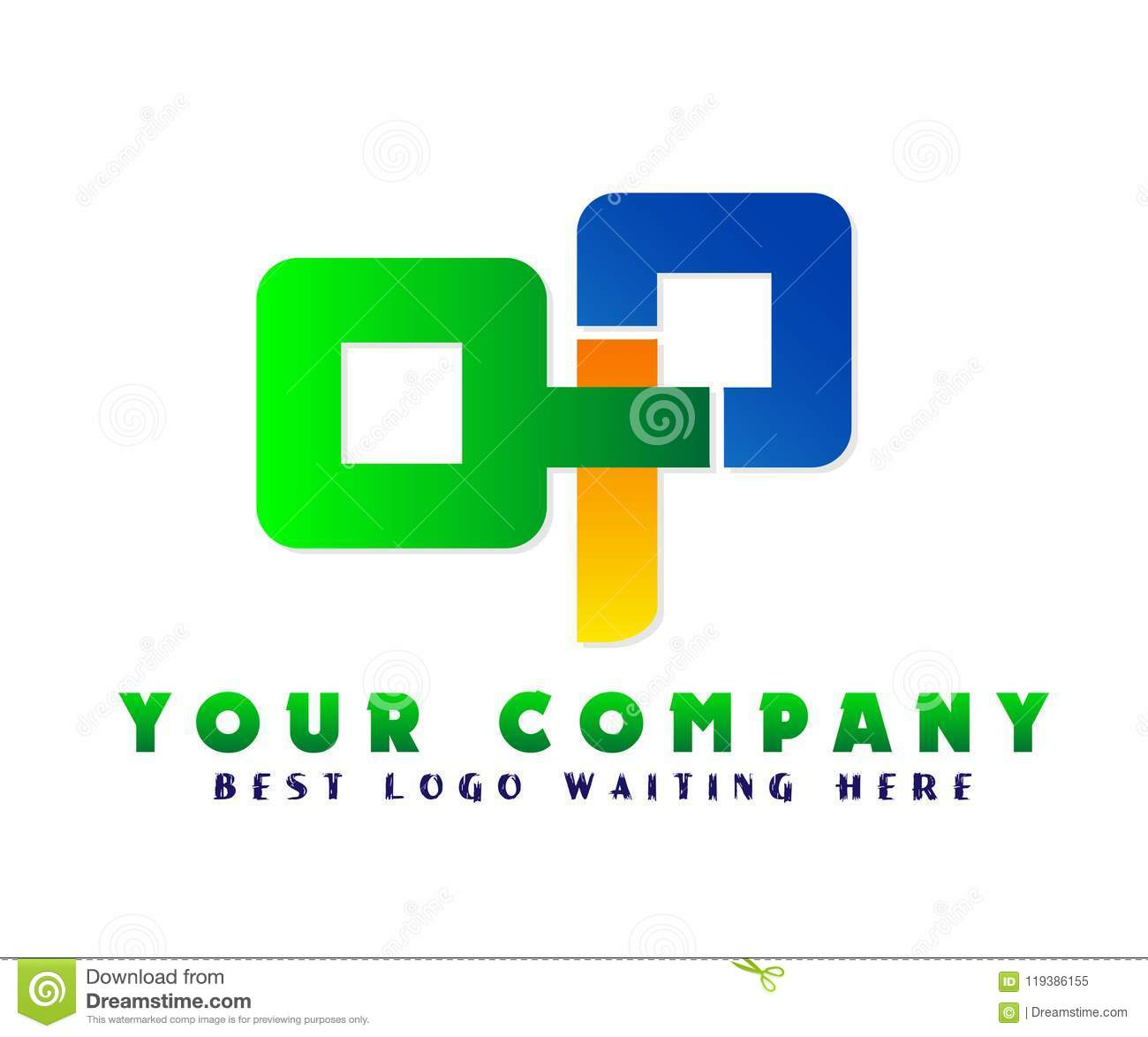 Abstract Business Company Logo, Corporate Identity Design Element ...