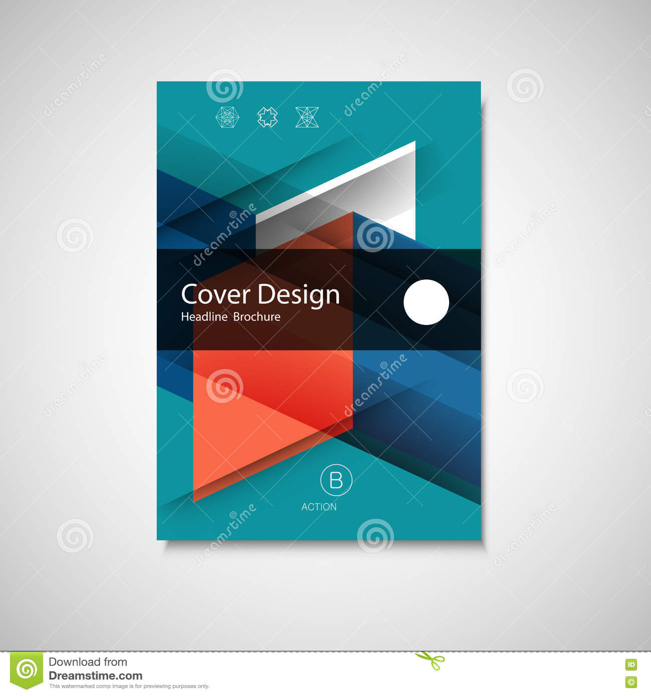 abstract business flyer design vector template in a size annual abstract business flyer design vector template in a4 size annual report or book cover
