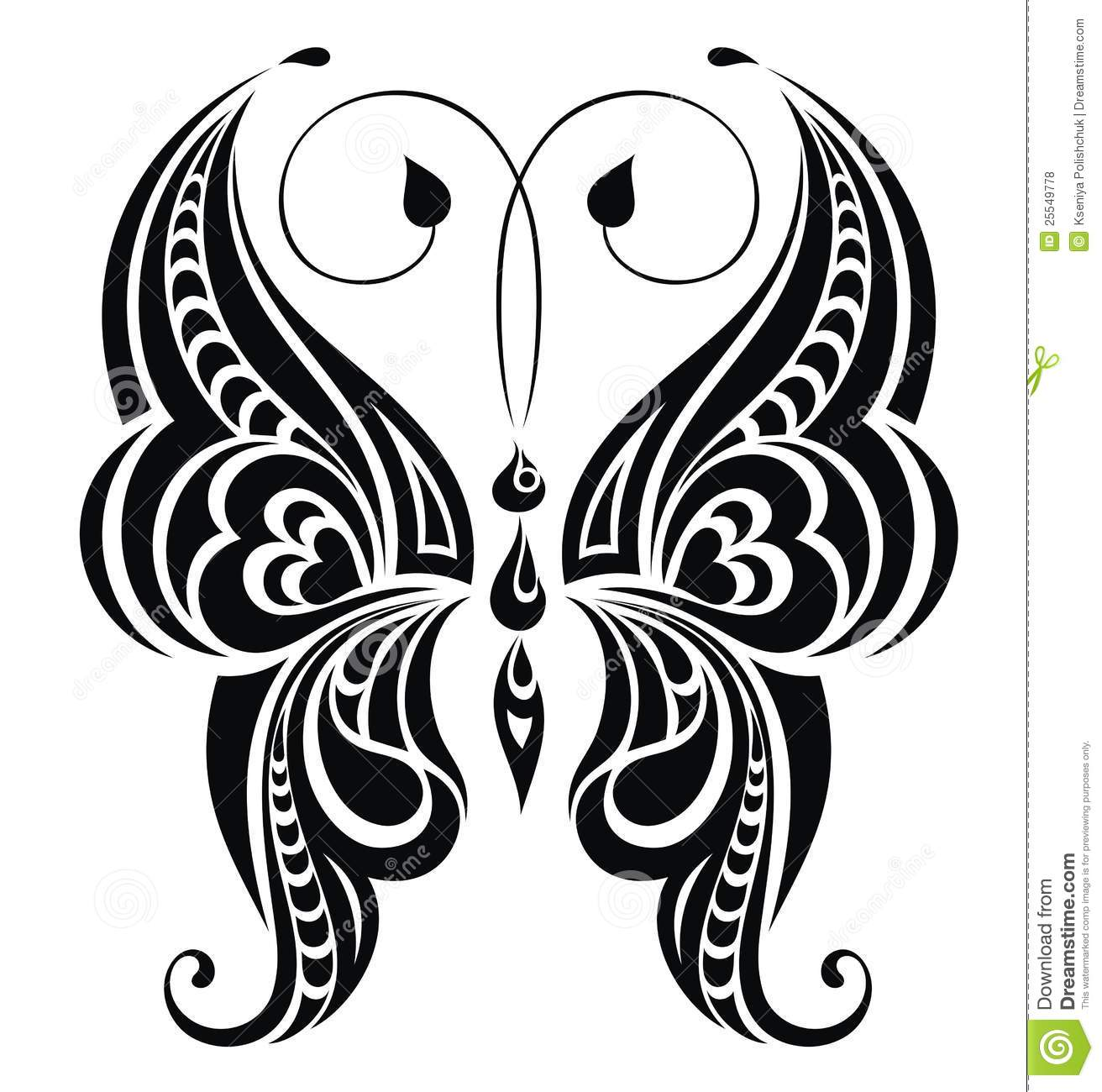 Abstract Butterfly. Vector For Your Design Royalty Free Stock Photos ...