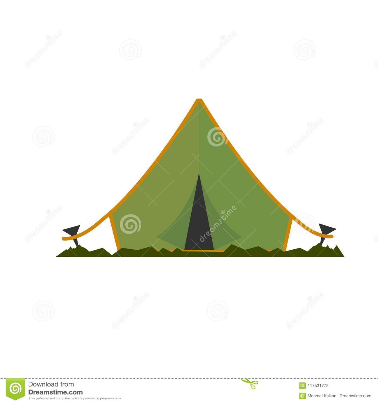 Abstract Camping Designs