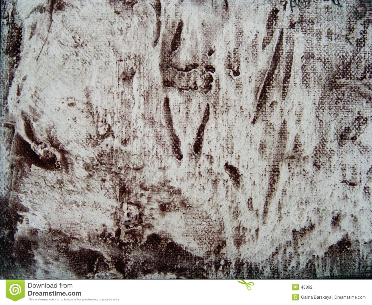 Abstract canvas grunge pattern