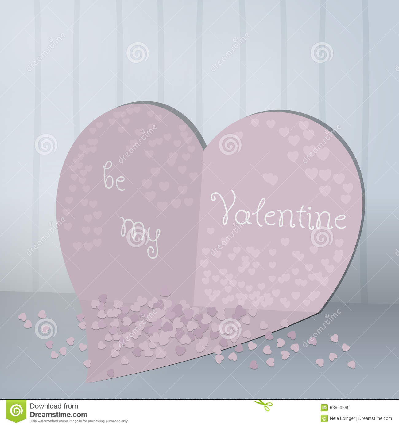 Abstract cards with paper hearts and confetti valentines day stock download abstract cards with paper hearts and confetti valentines day stock vector illustration of m4hsunfo