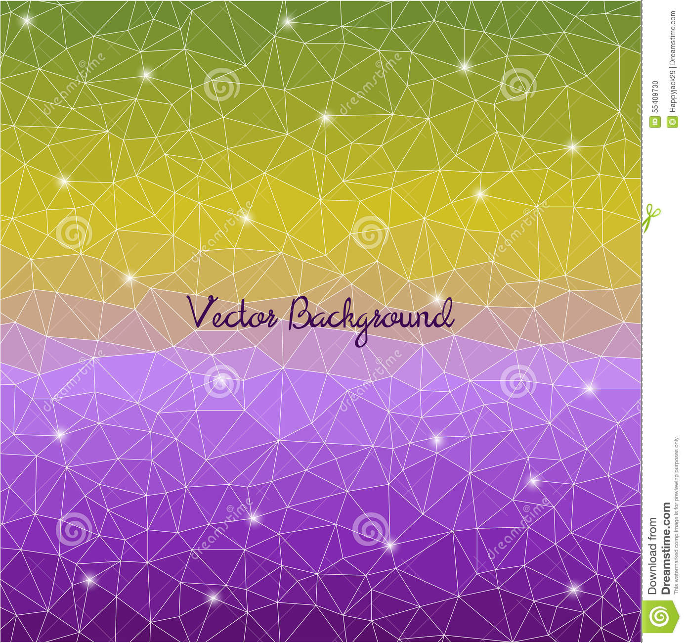 Abstract Cell Triangle Background. Stock Vector - Illustration of ...