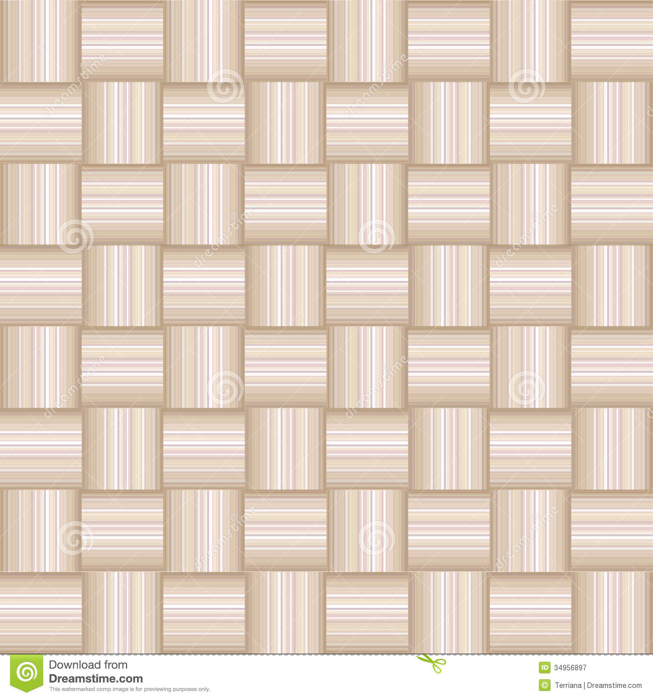 Abstract Checkered Geometric Seamless Texture Royalty Free