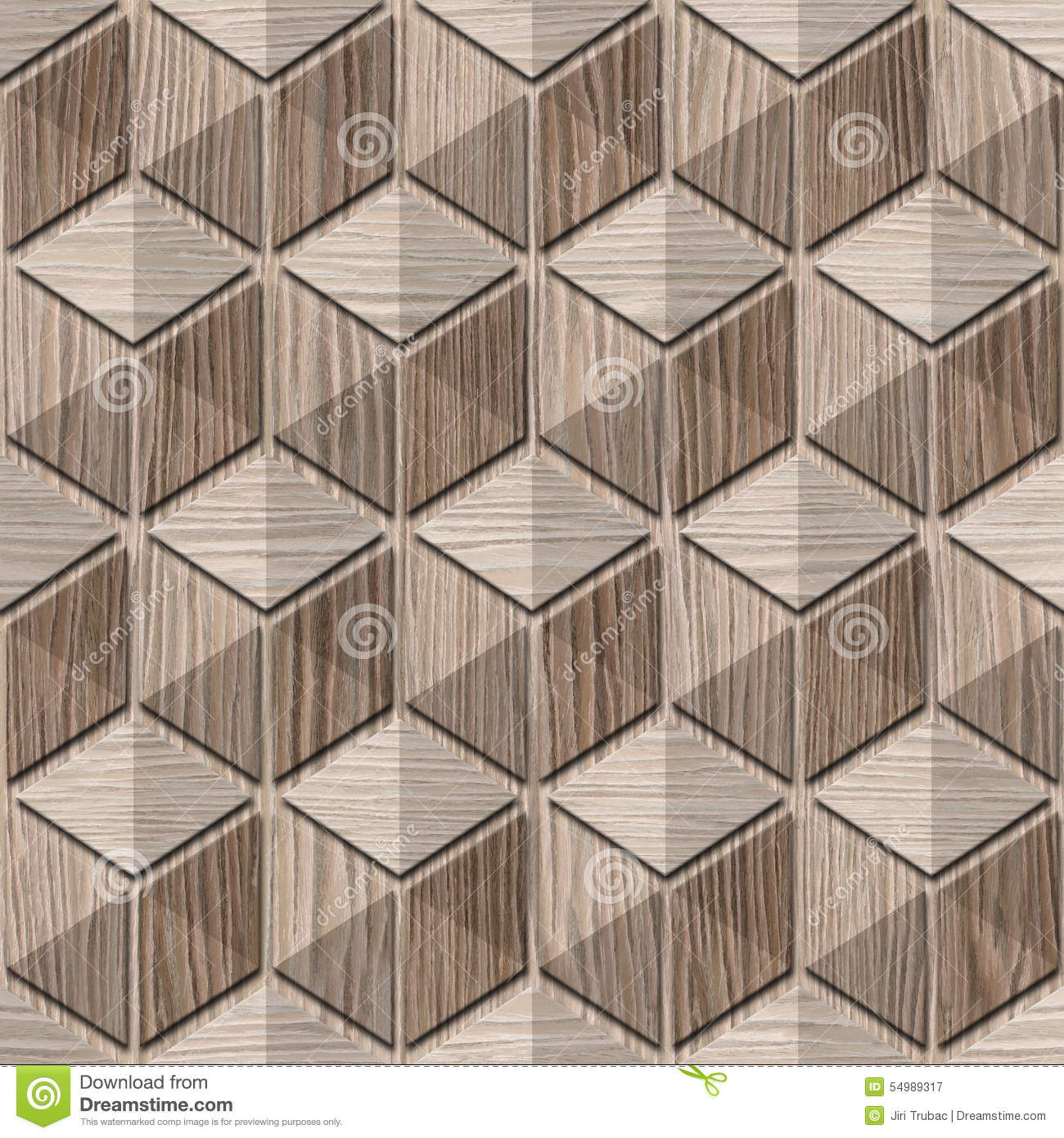 Abstract checkered pattern - seamless background - Blasted Oak