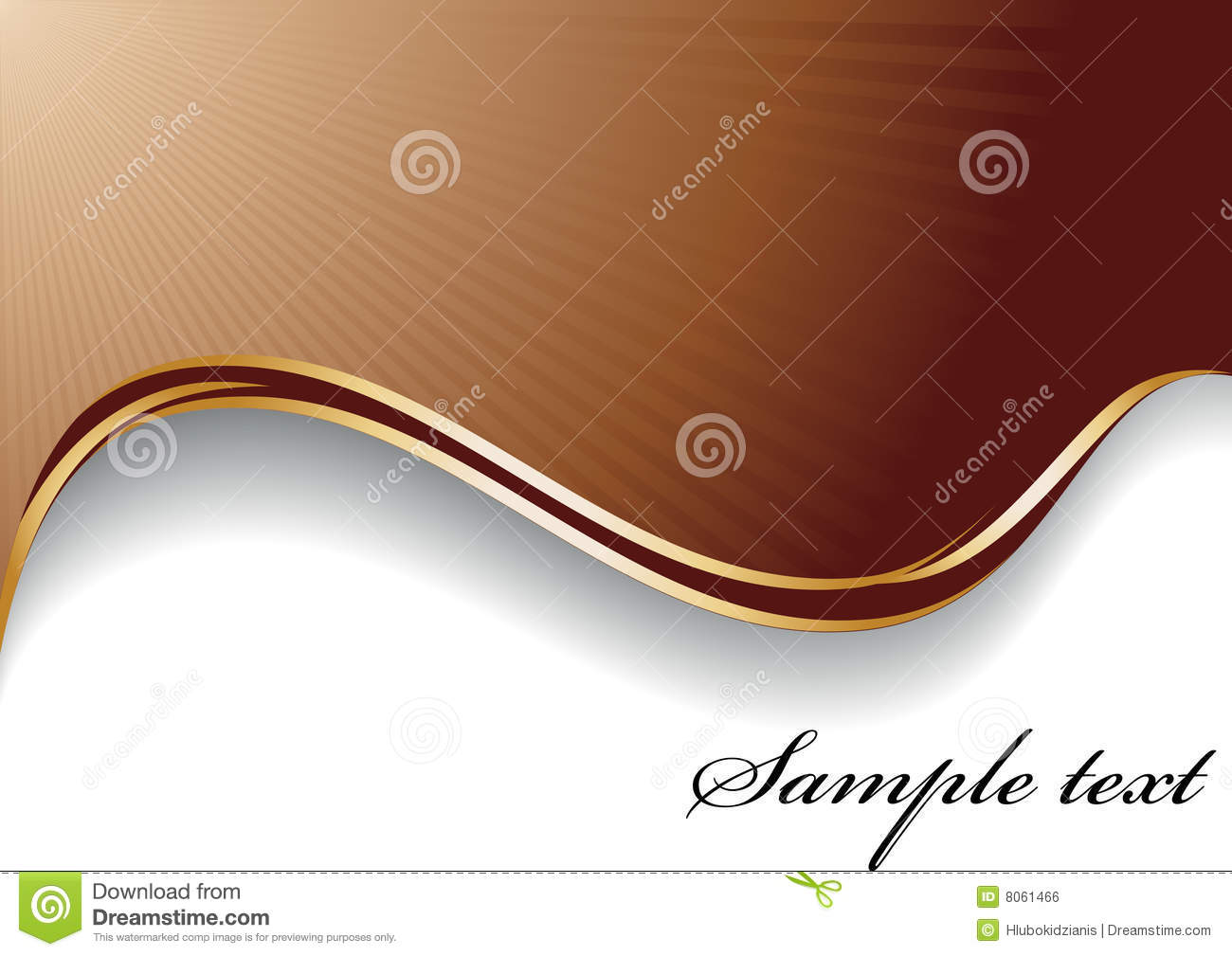 abstract chocolate background stock vector illustration