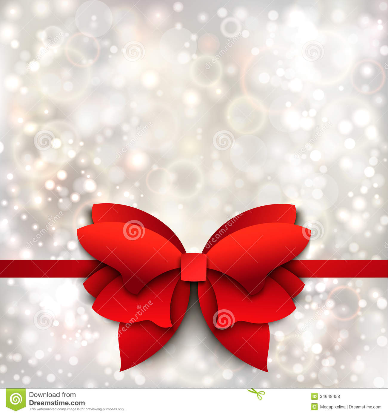 Abstract Christmas Background With Red Bow Royalty Free Stock Photos ...