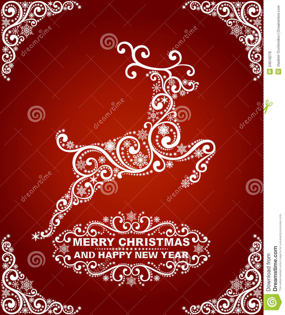 abstract christmas card royalty free stock photos