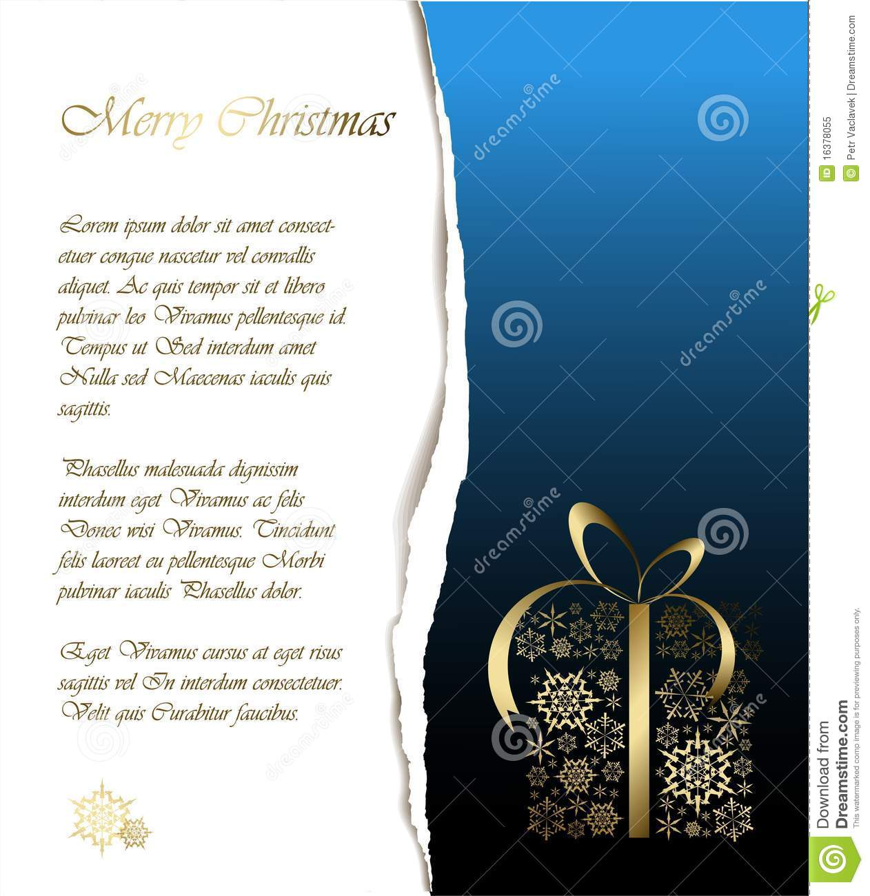 Abstract Christmas Card With Sample Text Royalty Free Stock Photo .