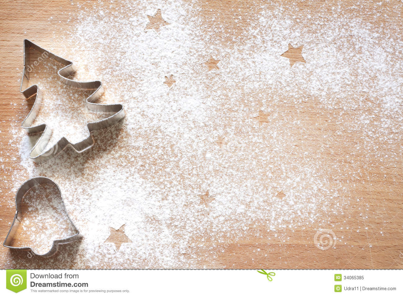 christmas baking background with - photo #43