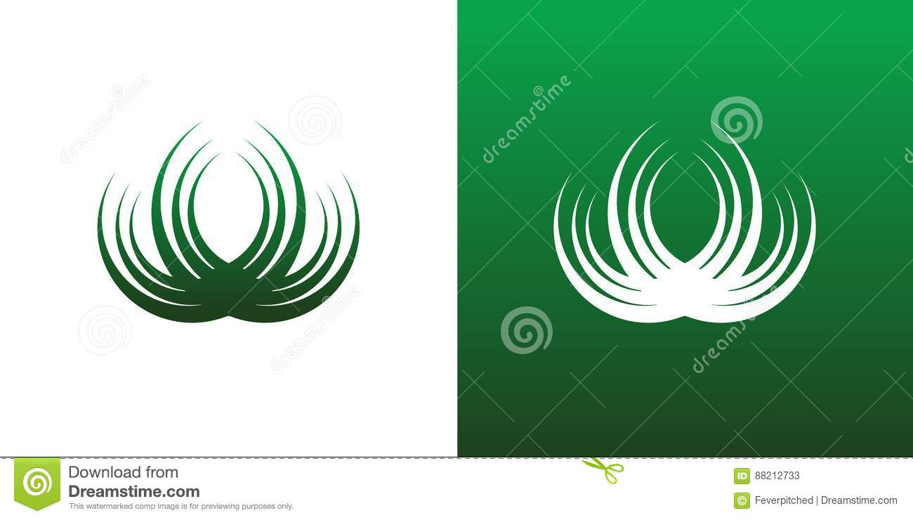 Abstract Circle Combination Logo Icon Symbol Both Solid and Reversed.