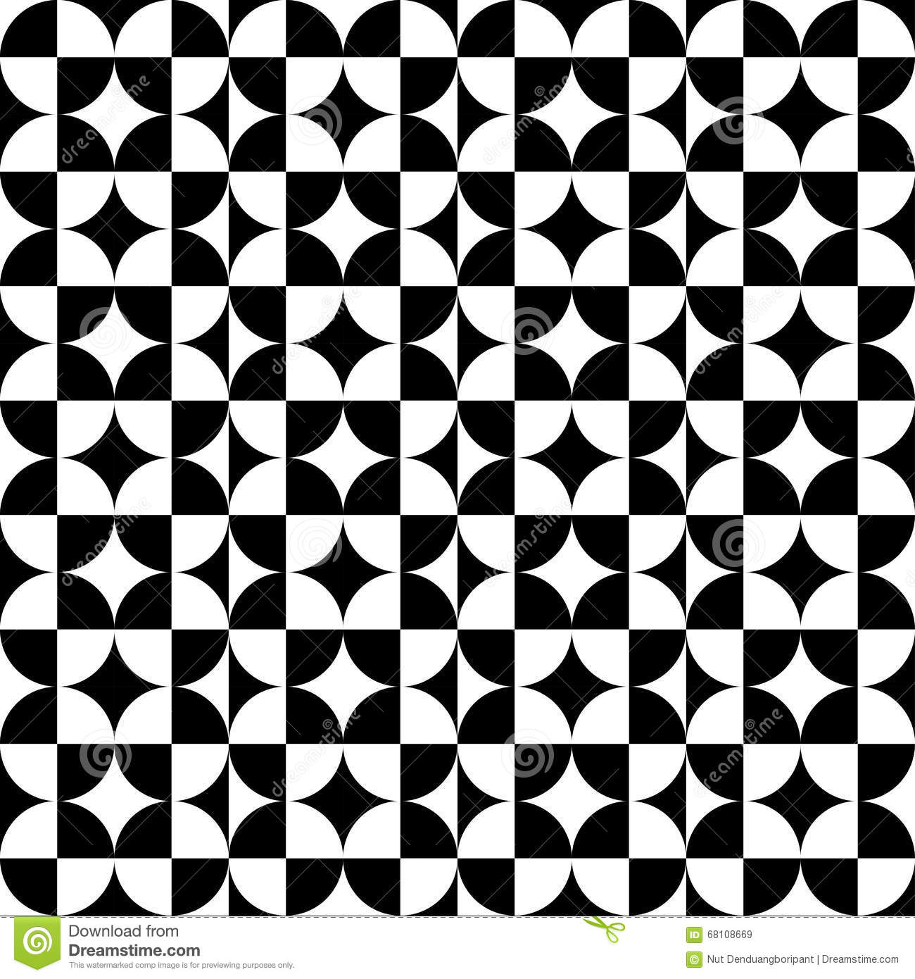 abstract circle square pattern black stock vector illustration of