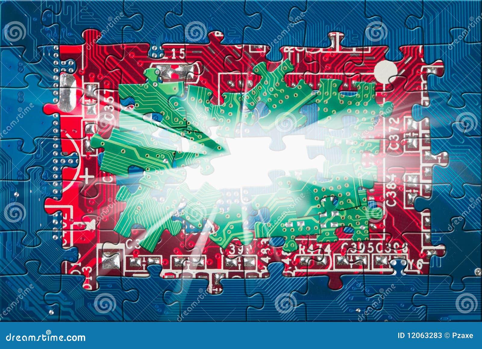 Circuit Board Light Blue Royalty Free Stock Photos Image 17537248