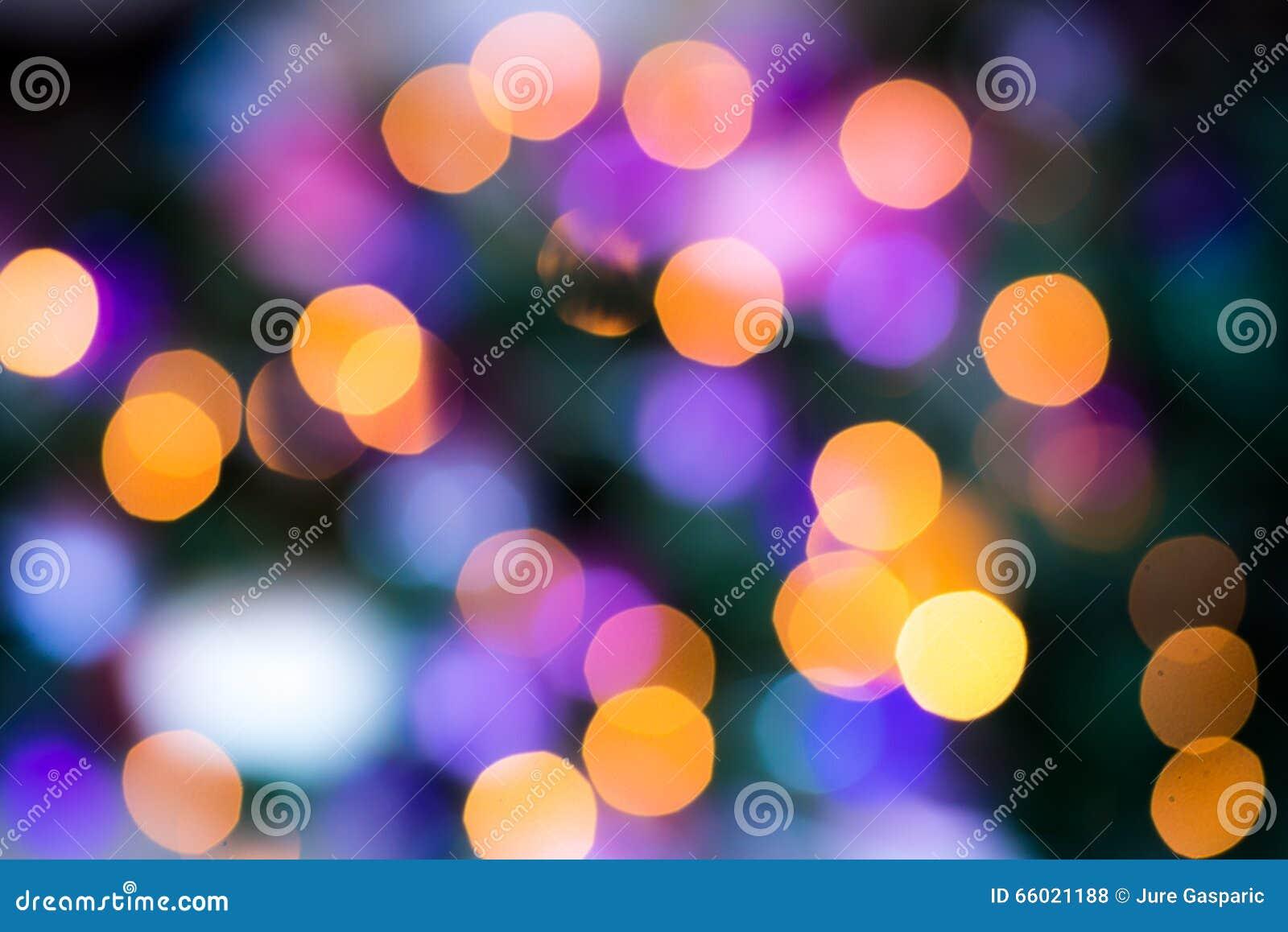 Abstract circular bokeh colors circles
