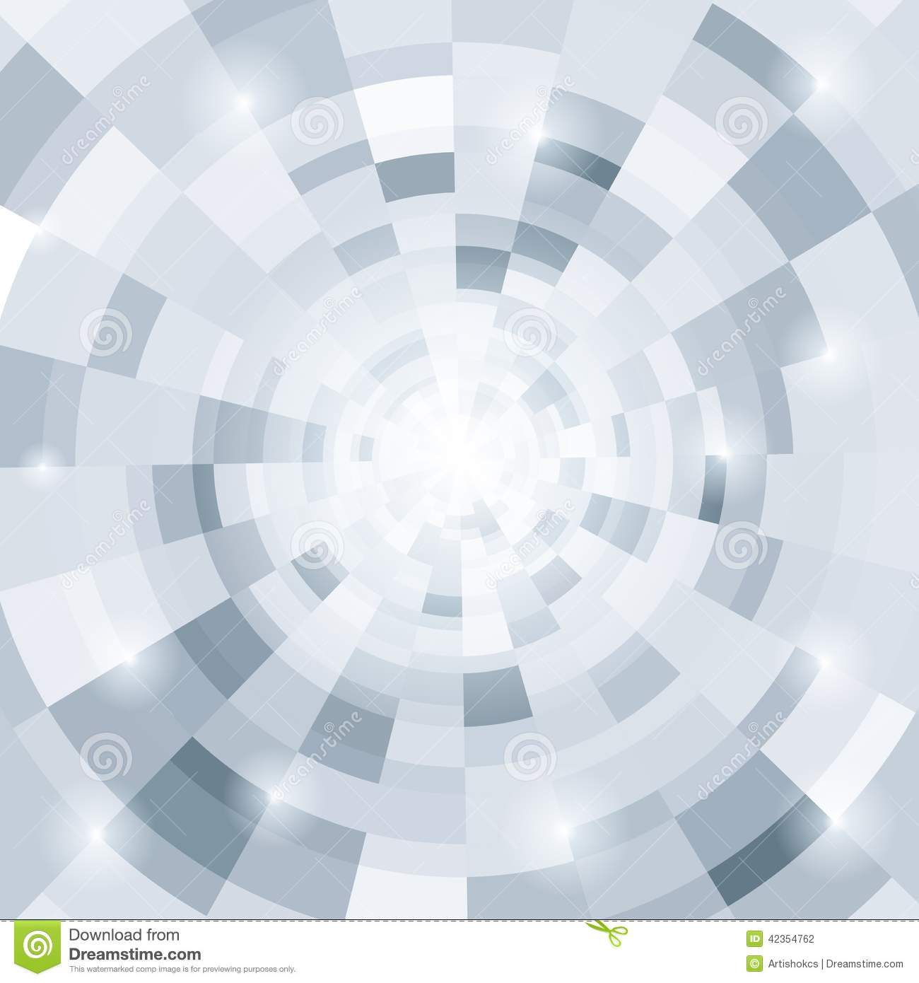 Abstract Circular Gray Background Stock Vector - Image ...