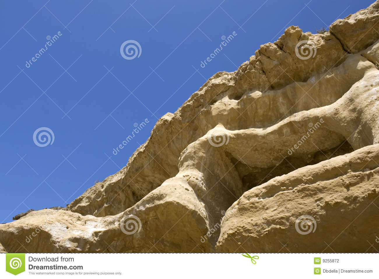 Abstract cliff