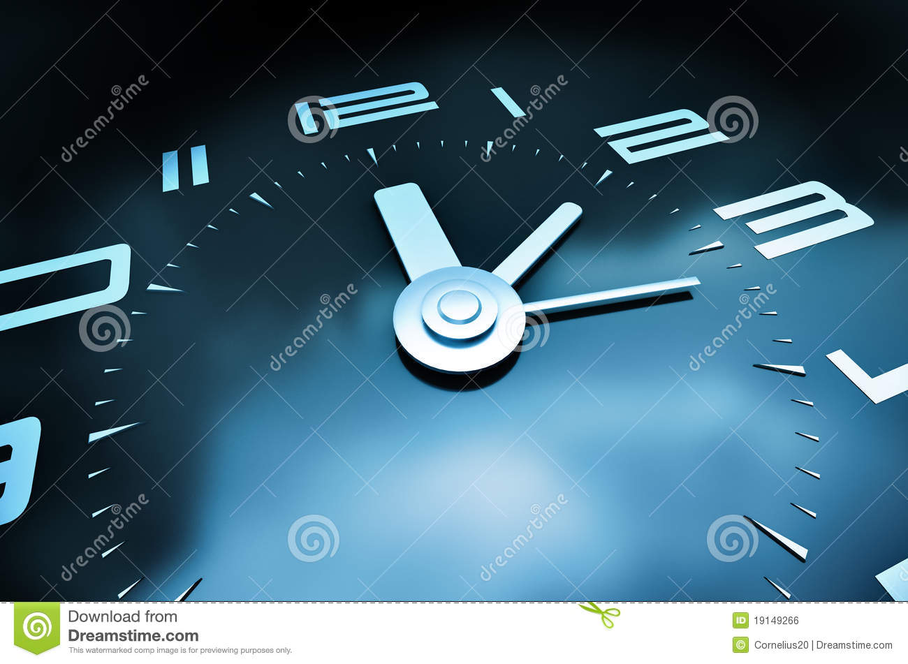 Abstract Clock Stock Illustration Image Of Concepts