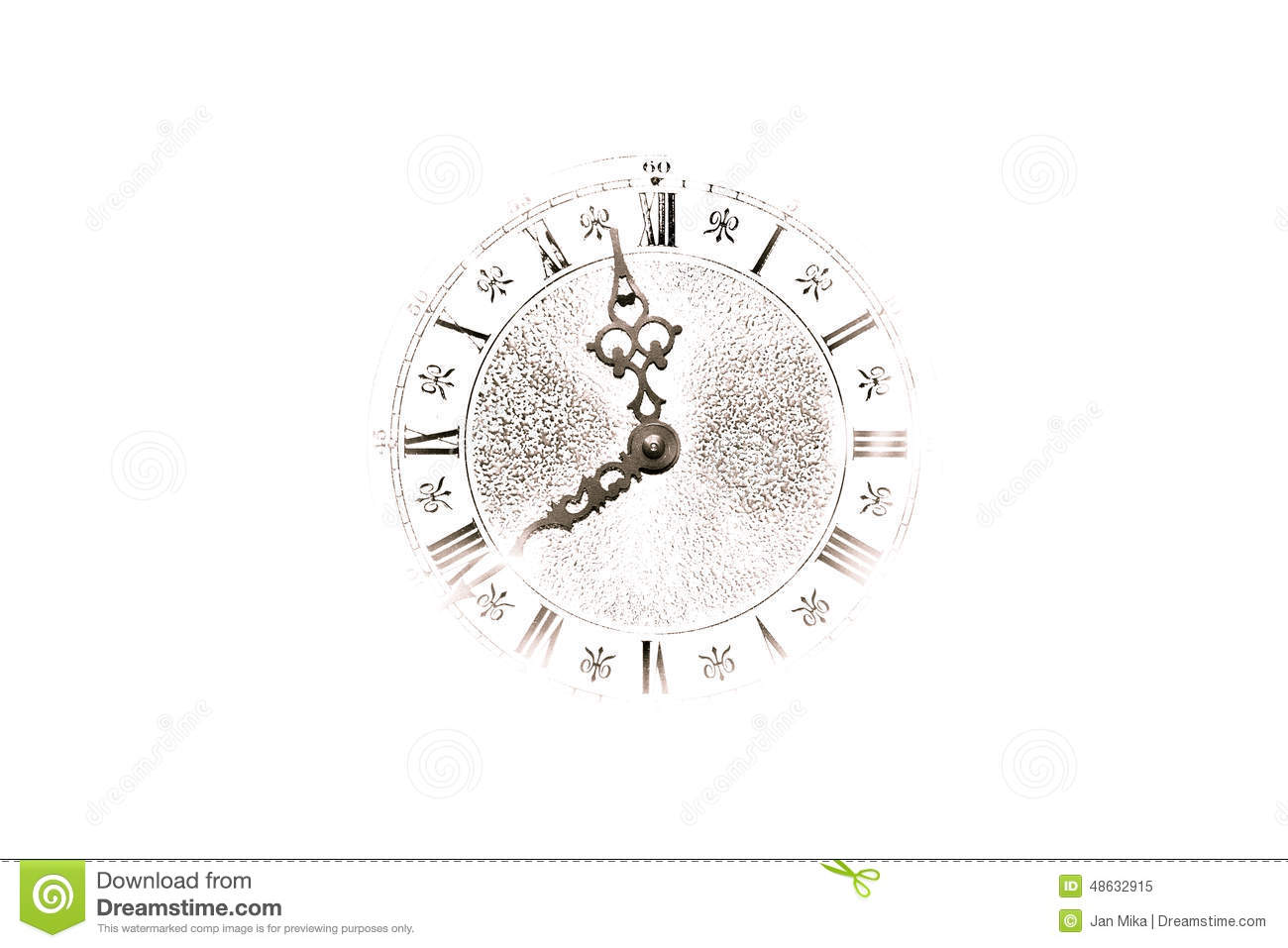 Abstract Clock Background Stock Image Image Of Creative 48632915