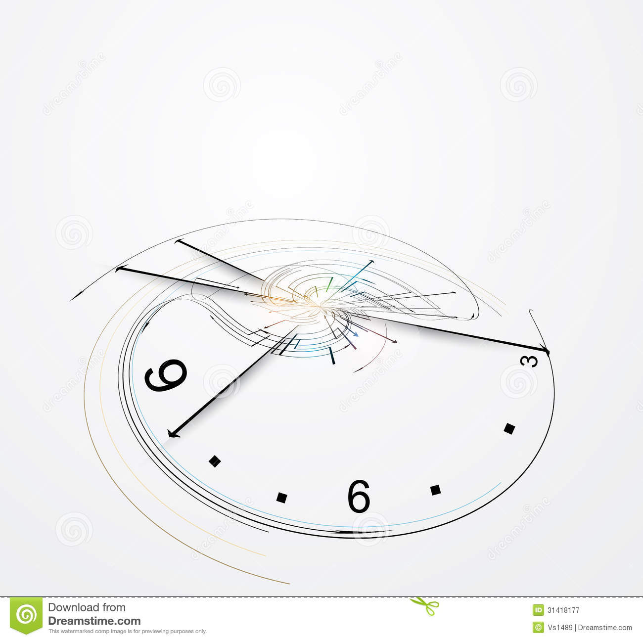 and clock abstract concept - photo #20