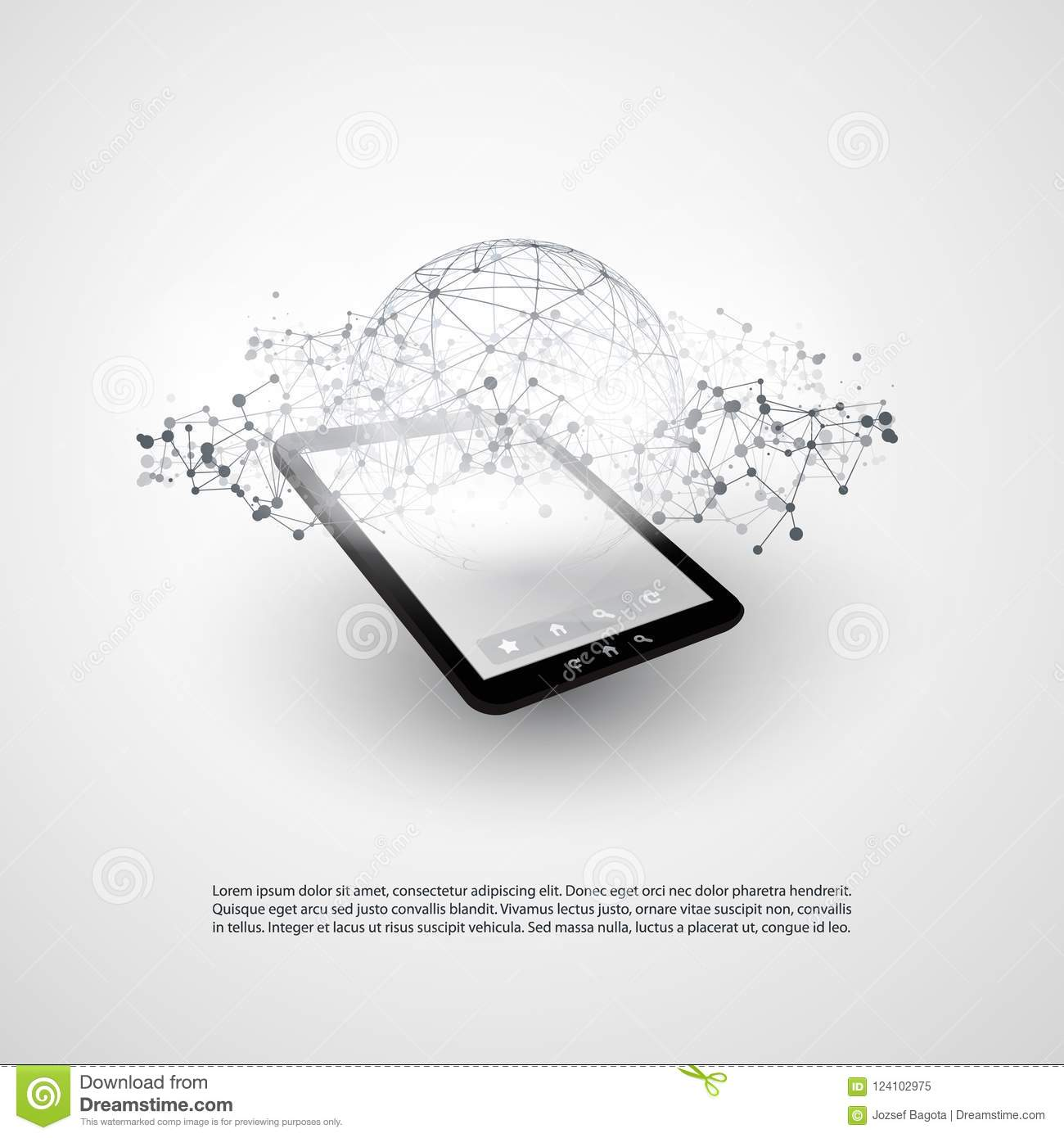 Abstract cloud computing and global network connections concept download abstract cloud computing and global network connections concept design with tablet pc wireless mobile keyboard keysfo Images