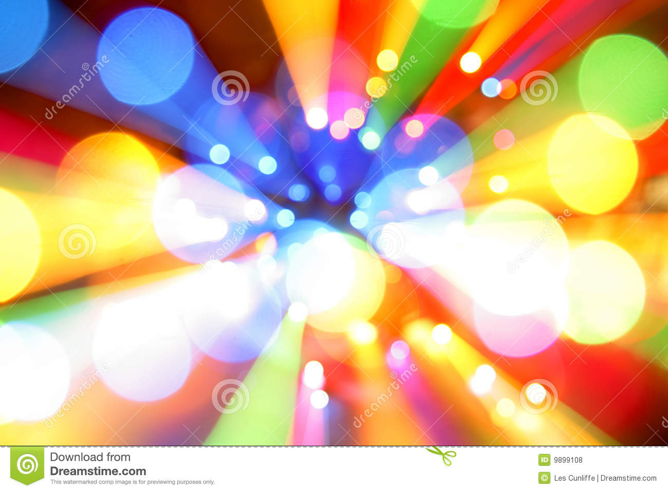 Abstract Color Lights Royalty Free Stock Photos - Image: 9899108
