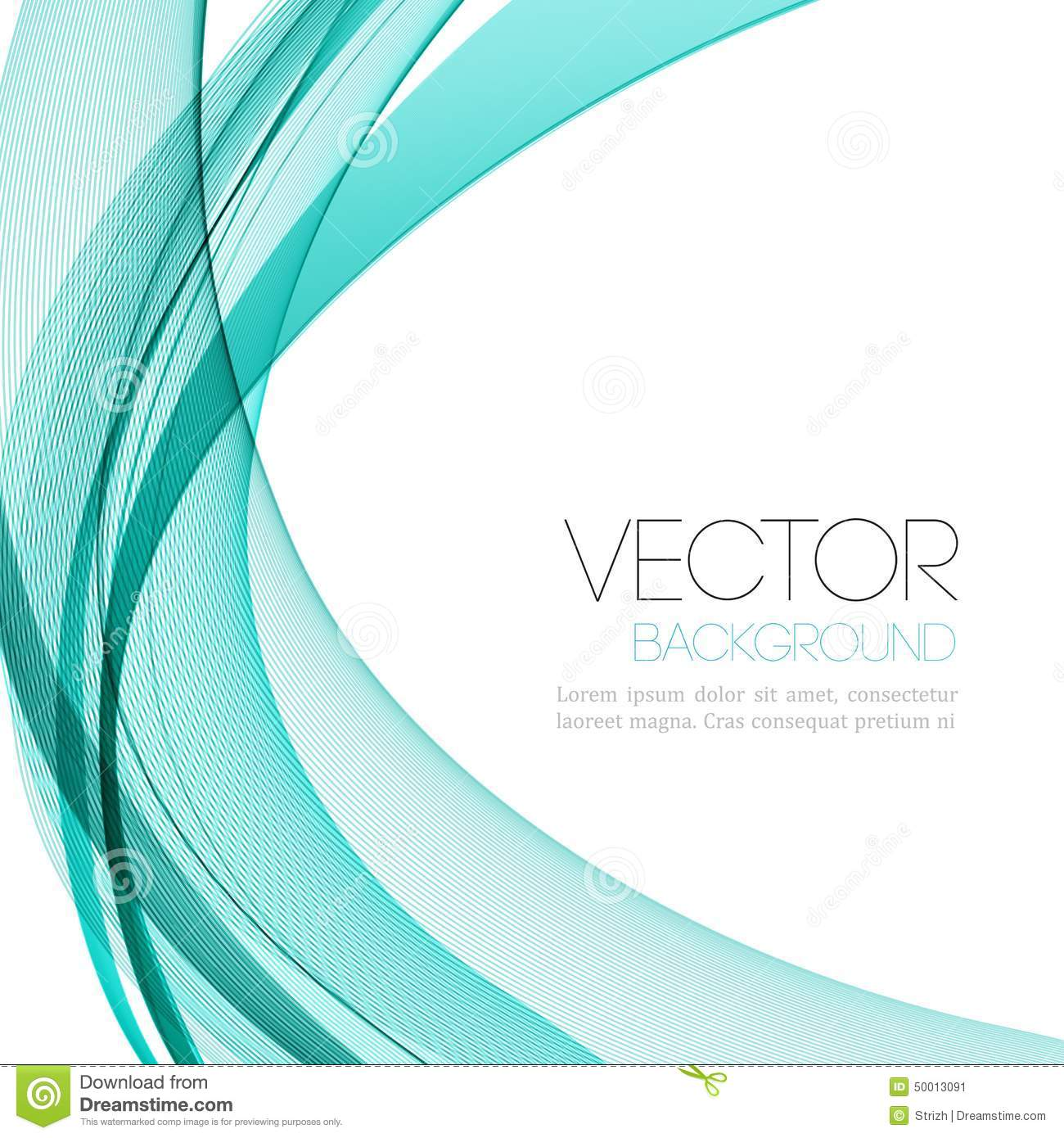 Abstract Color Lines Background. Template Leaflet