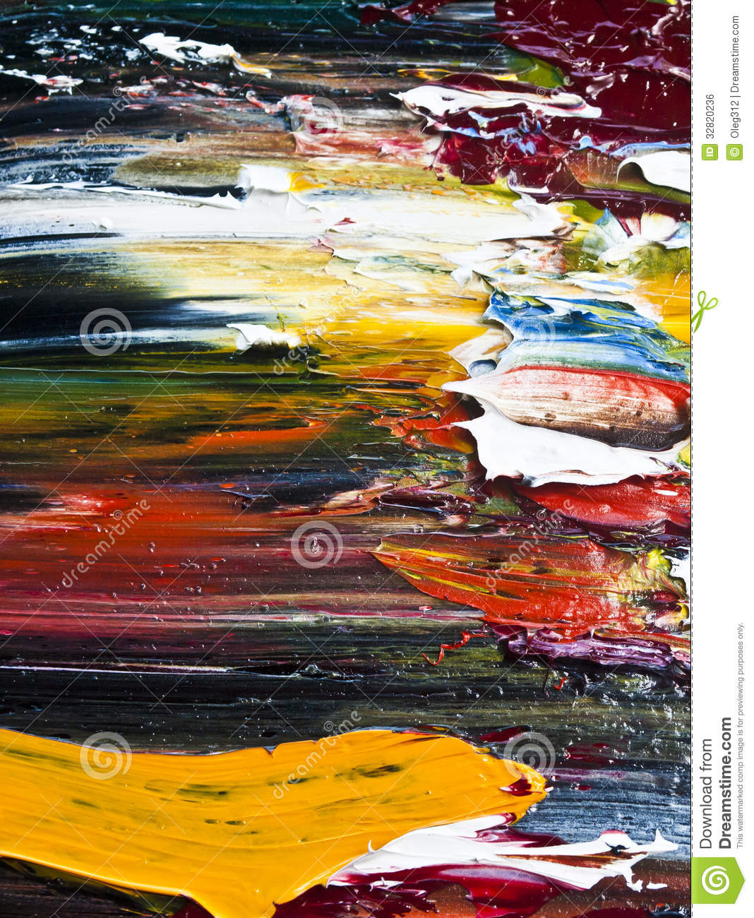 Abstract color oil paint royalty free stock image image for Free photo paint