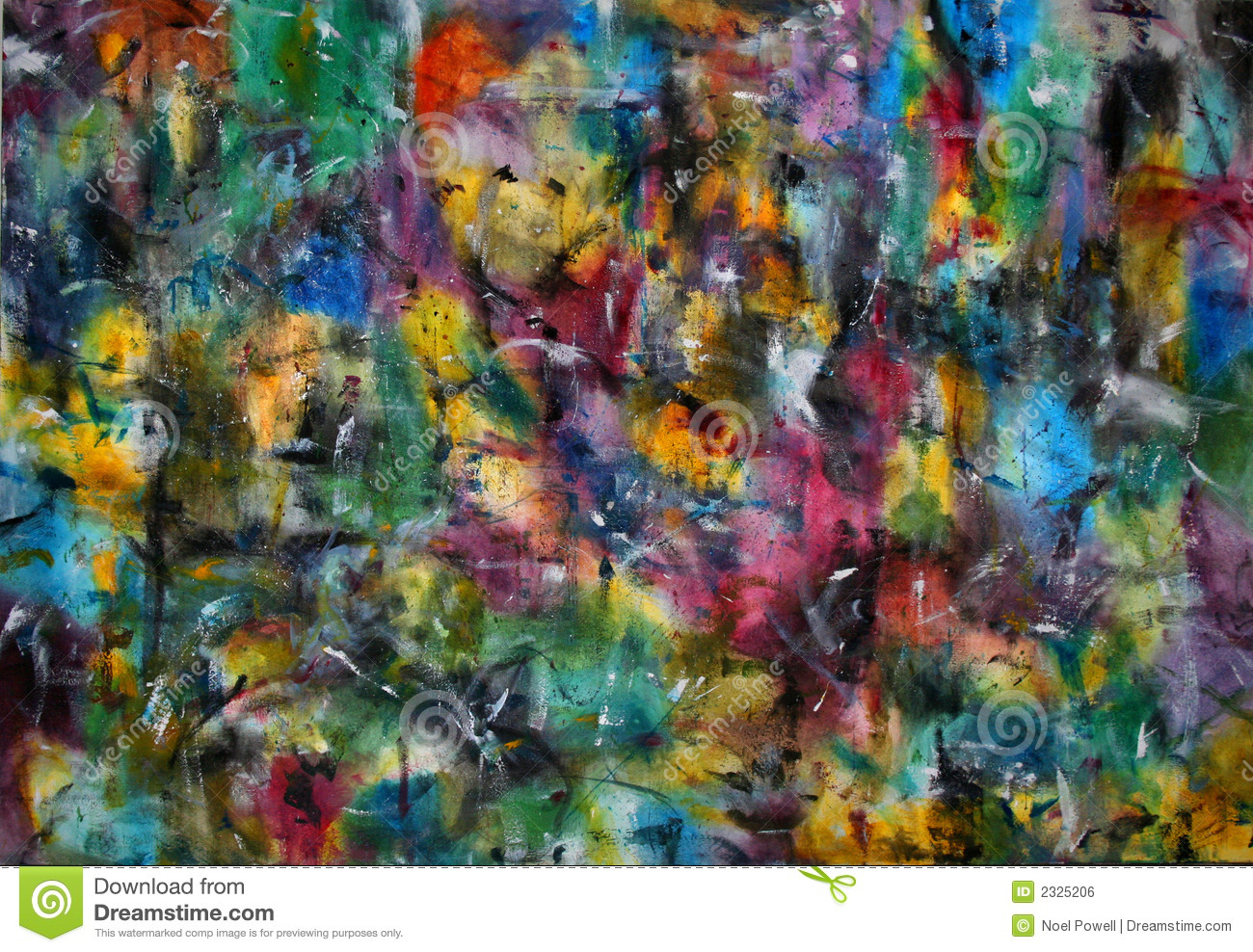 Abstract Color Painting Royalty Free Stock Image Image