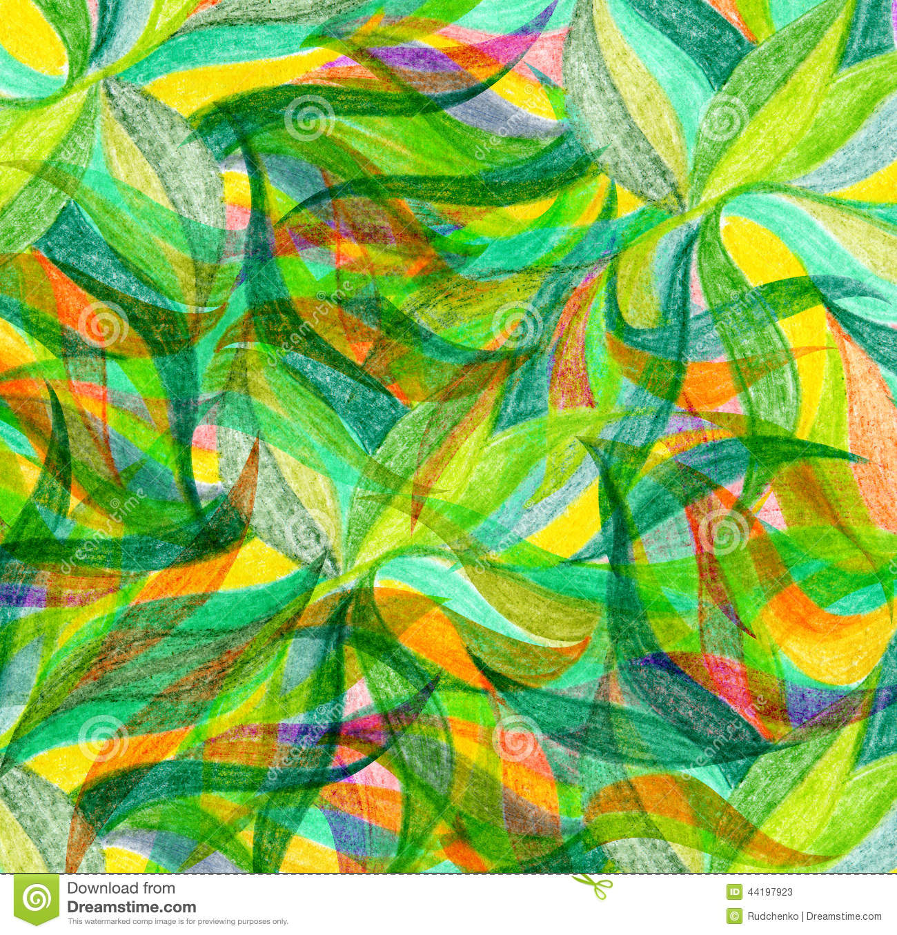 Abstract Color Pencil Draw Background Stock Image - Image of ...