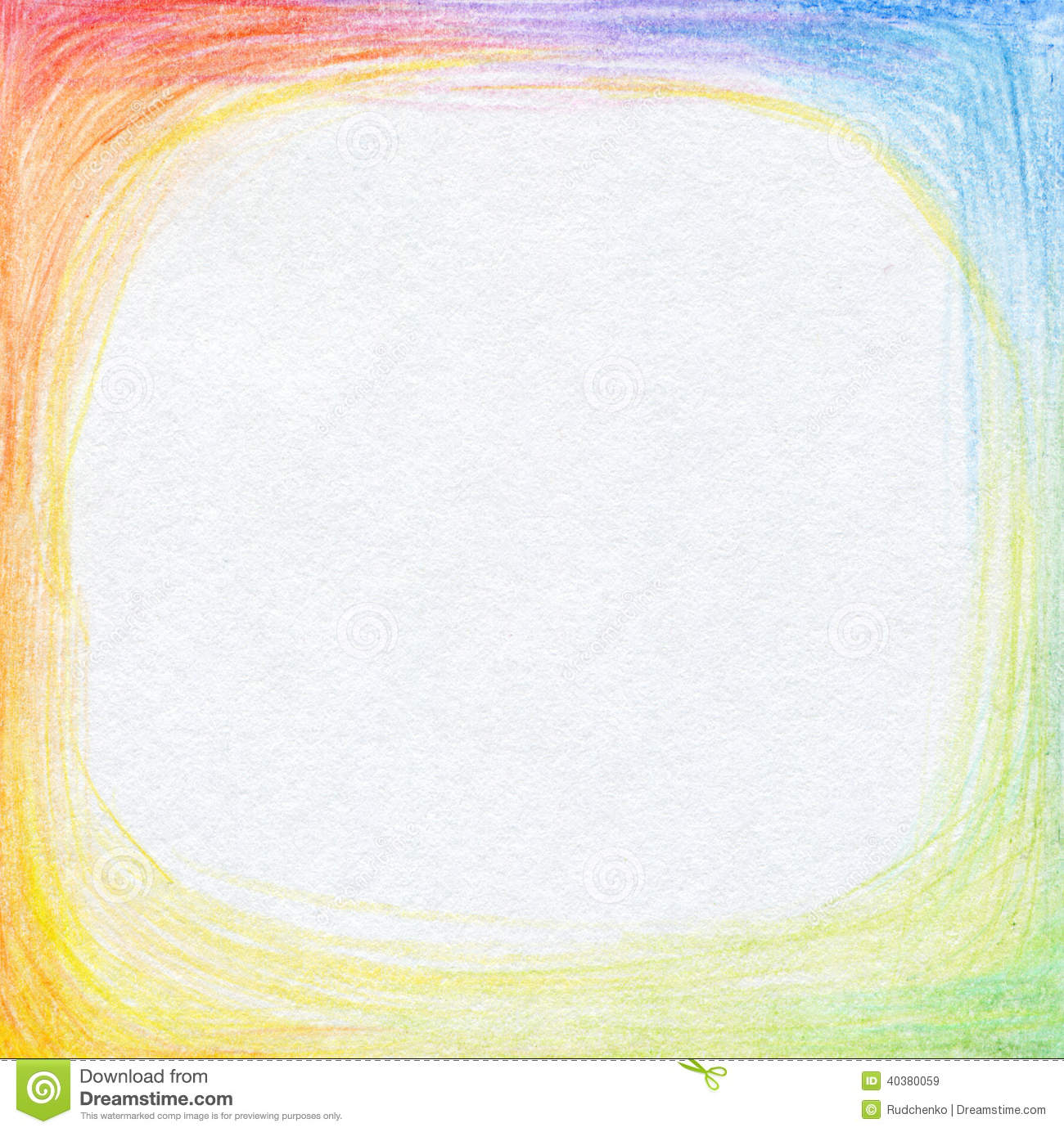 Scribbles Drawing And Coloring Book : Abstract color pencil scribbles background stock image