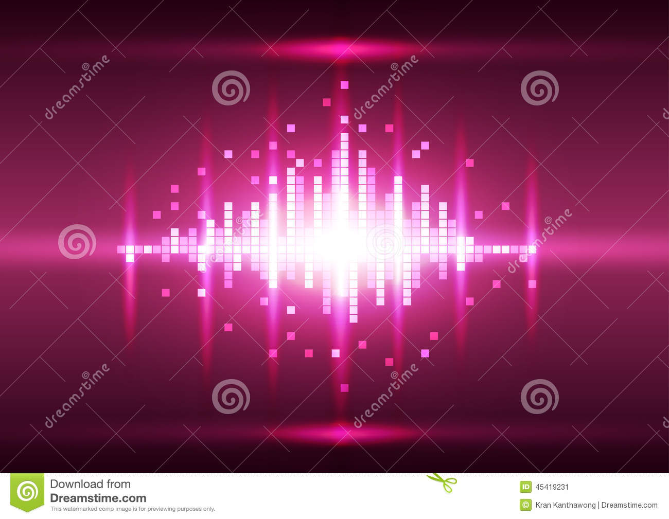 Abstract Color Pink Pixel Background Vector Stock Vector Image