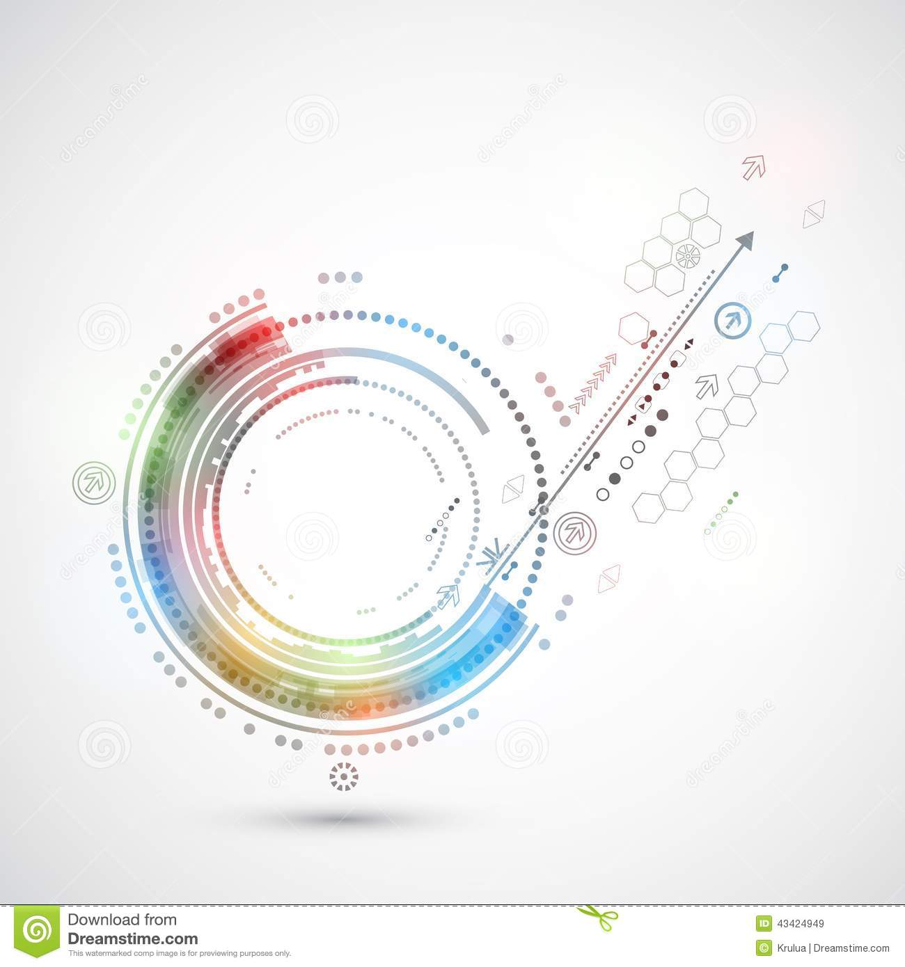 Abstract Color Technology Background Computer/technology ...