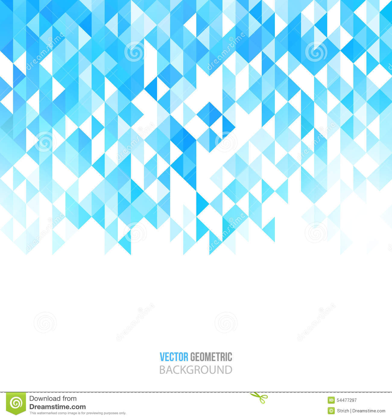 abstract color triangles poster geometric background vector illustration brochure design 54477297