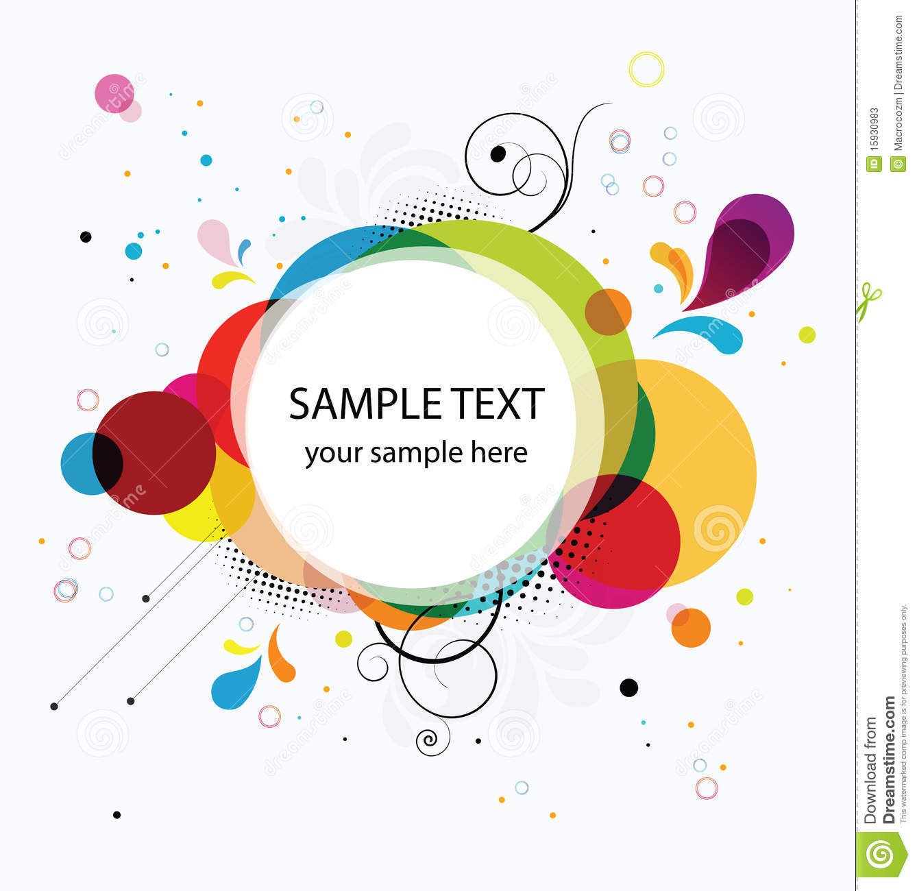 Abstract Colorful Background Banner Stock Vector