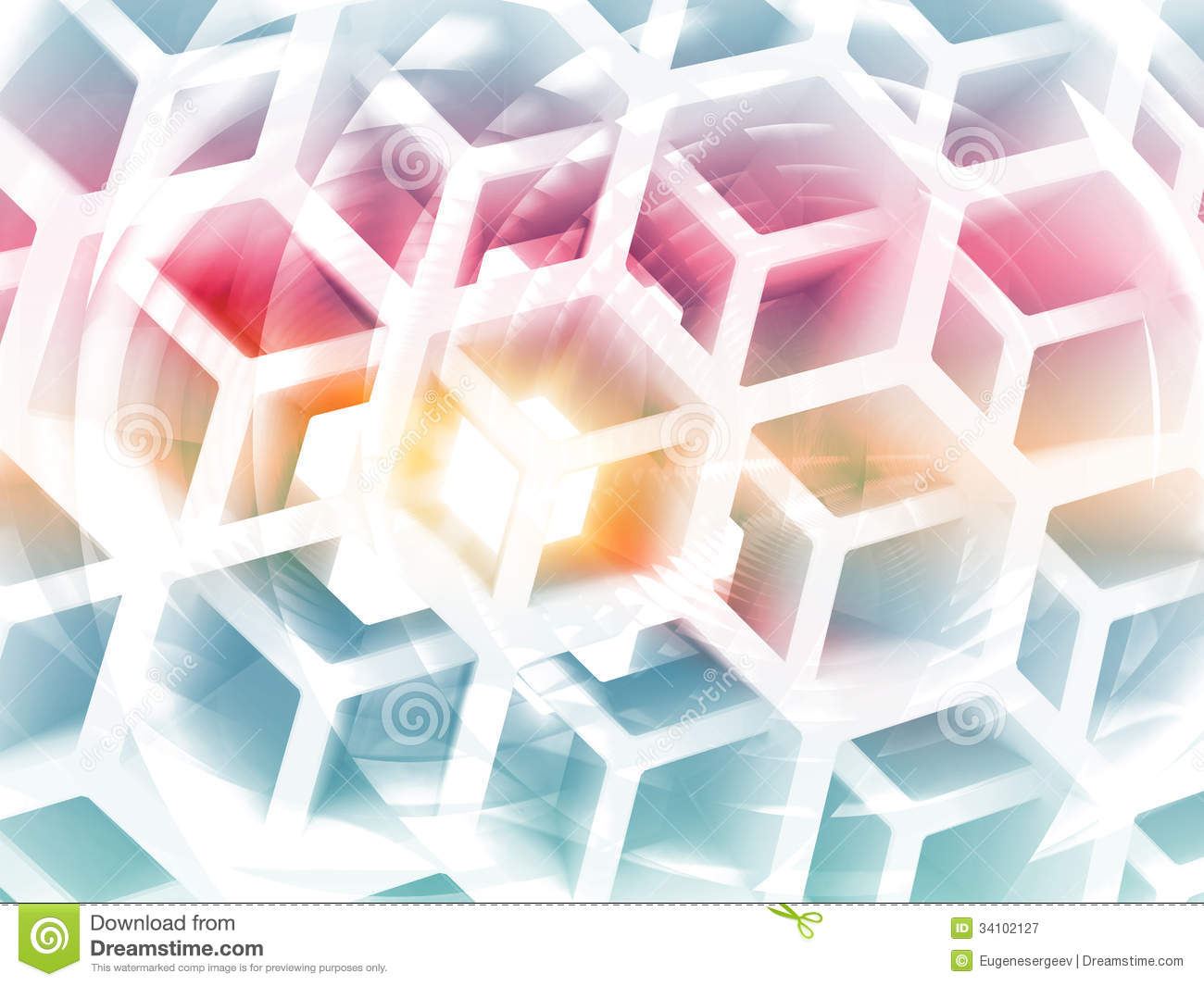 abstract honeycomb composition royalty - photo #8