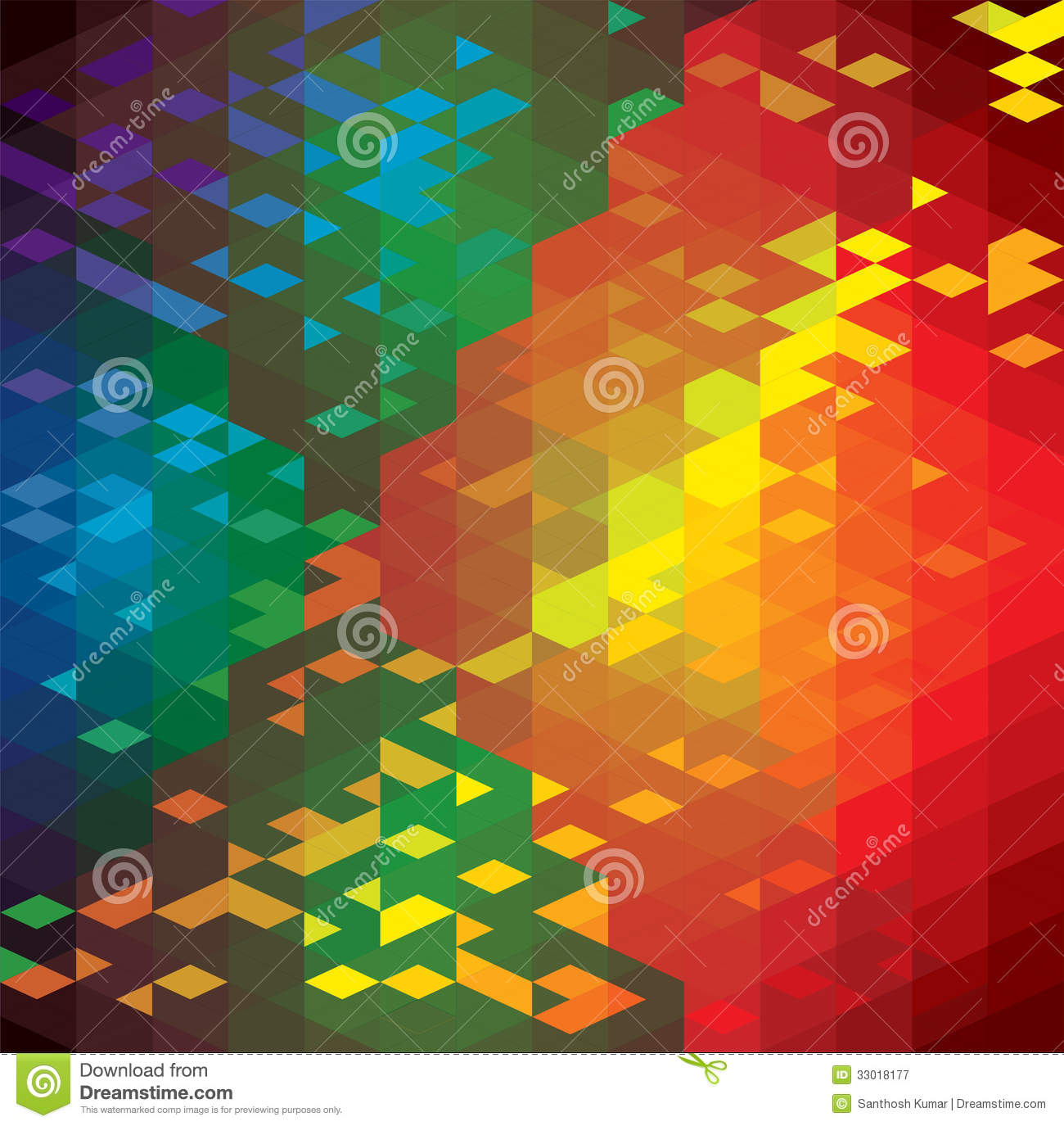 colorful shapes background created - photo #28