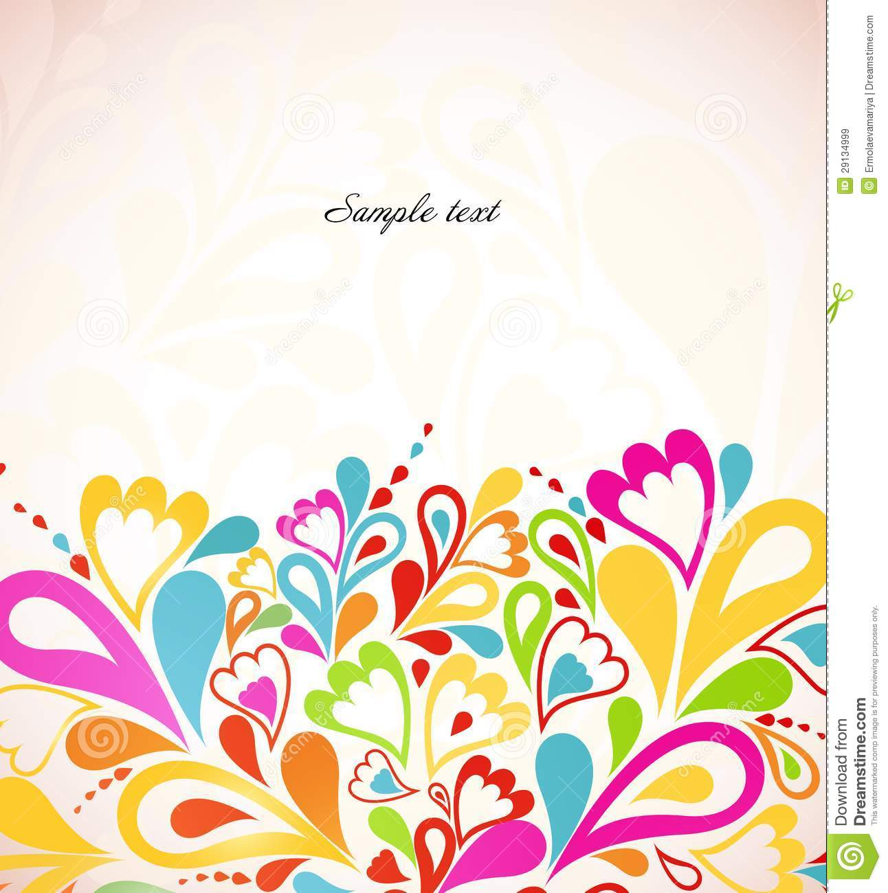 Abstract Colorful Background Vector Illustration Royalty