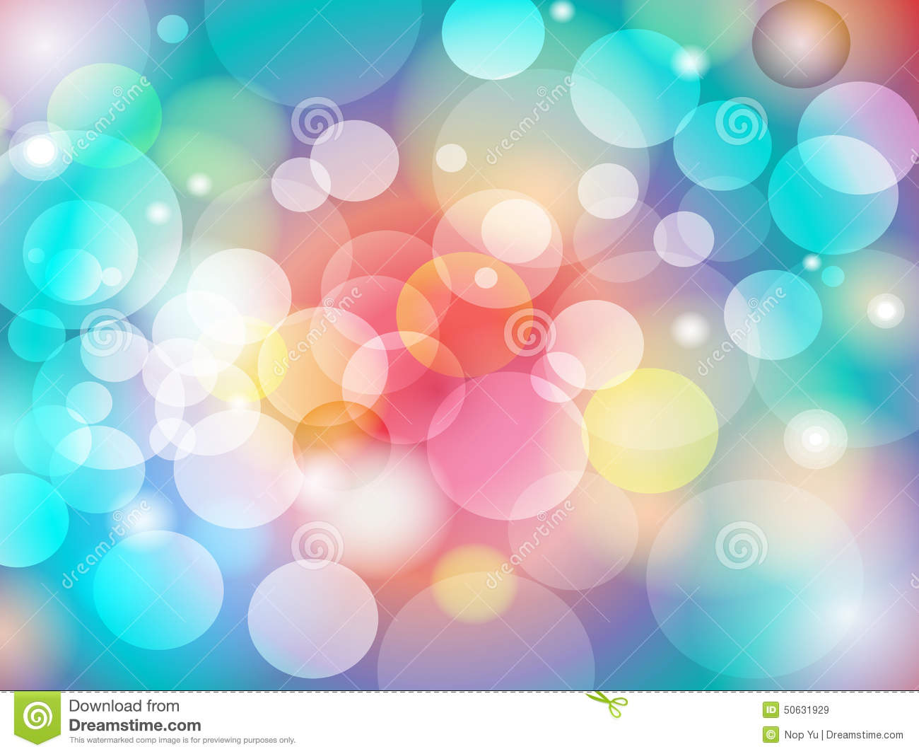 Background image design - Abstract Colorful Blur Bokeh Background Design Royalty Free Stock Images