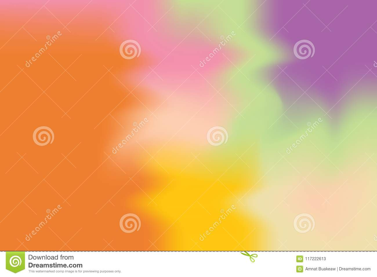 Orange Yellow Purple Soft Color Mixed Background Painting Art Pastel ...